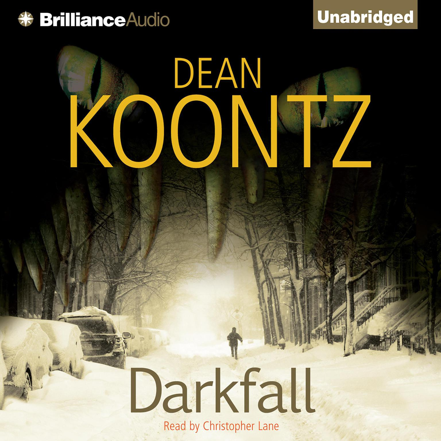 Printable Darkfall Audiobook Cover Art
