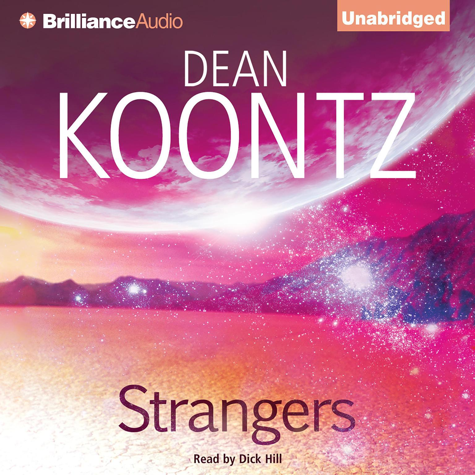 Printable Strangers Audiobook Cover Art