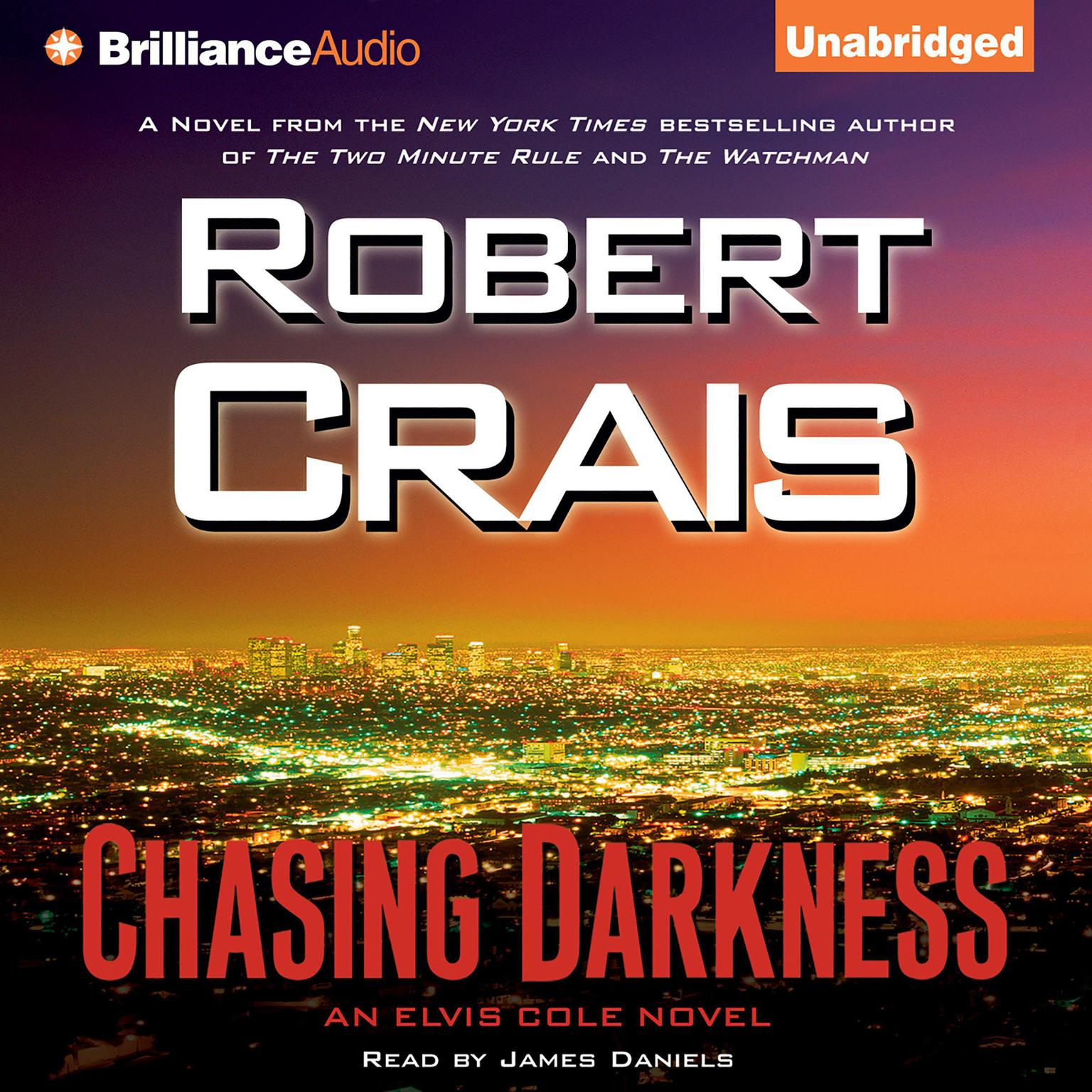 Printable Chasing Darkness Audiobook Cover Art