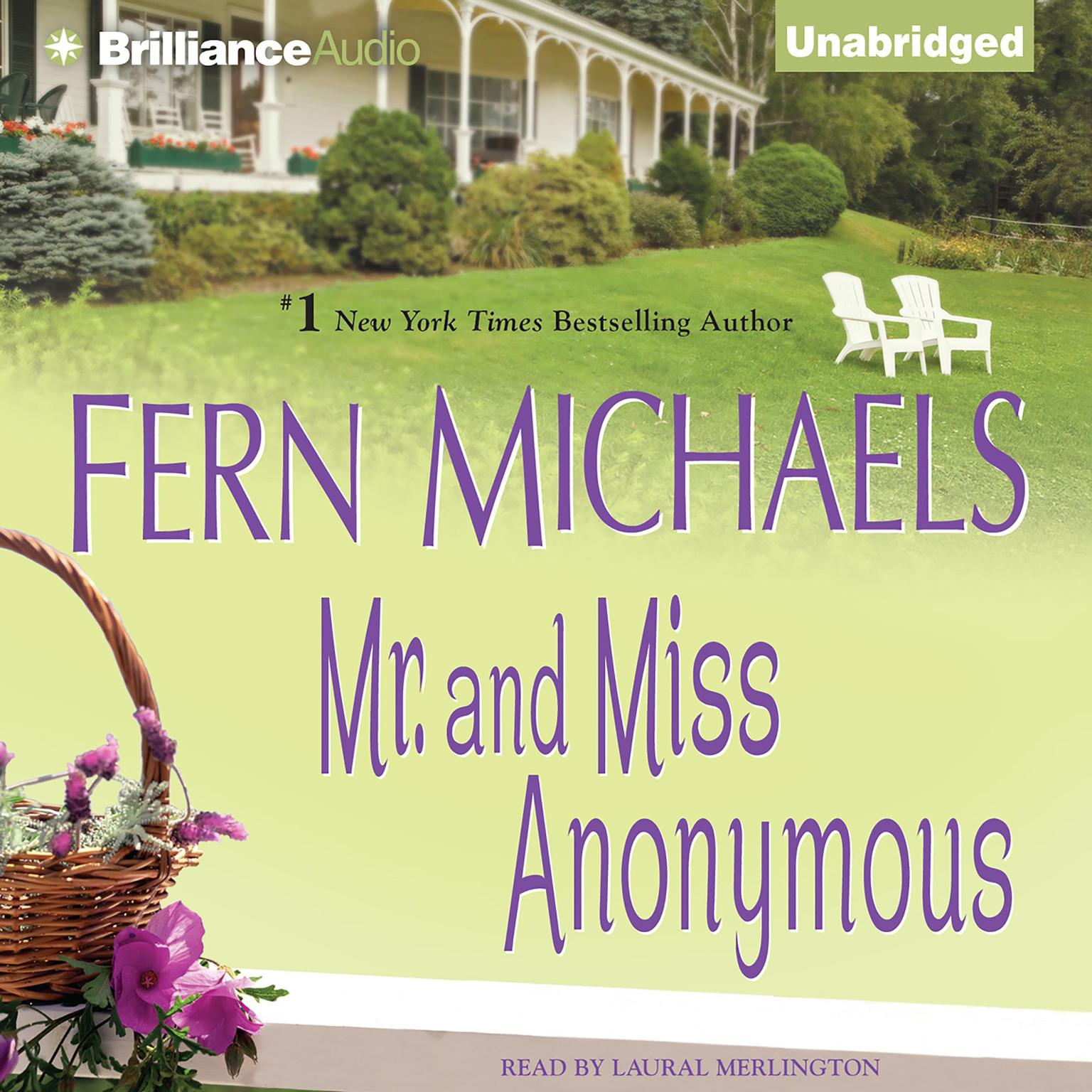 Printable Mr. and Miss Anonymous Audiobook Cover Art