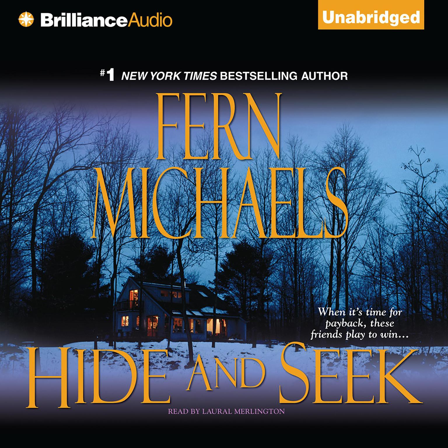 Printable Hide and Seek Audiobook Cover Art