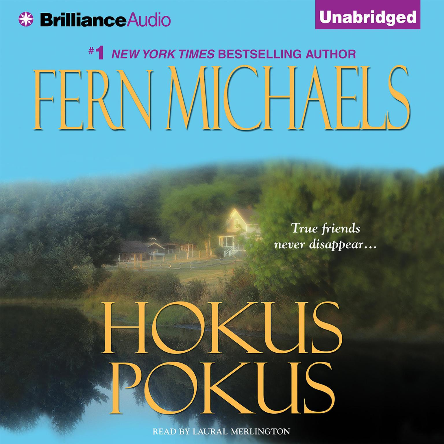 Printable Hokus Pokus Audiobook Cover Art