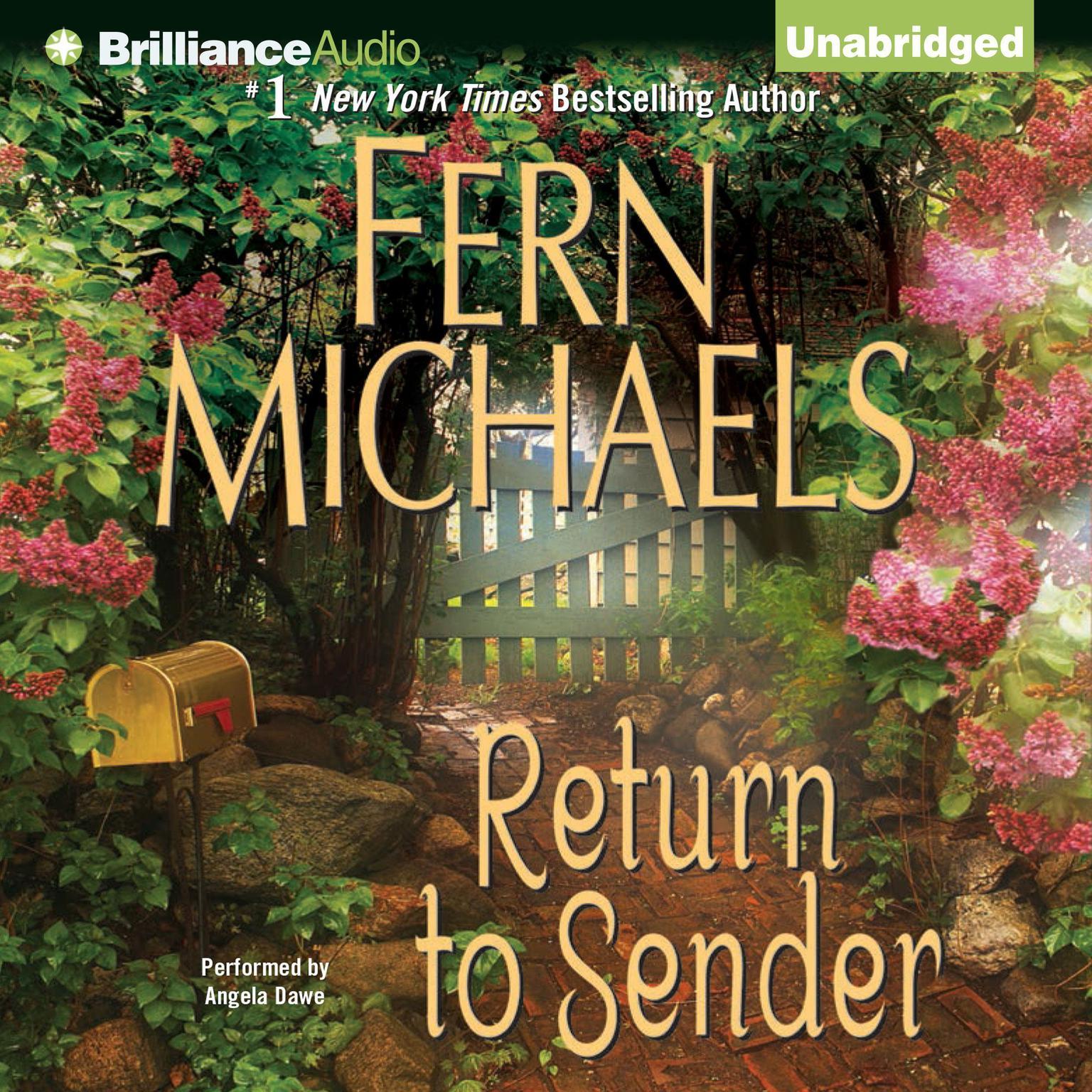Printable Return to Sender Audiobook Cover Art