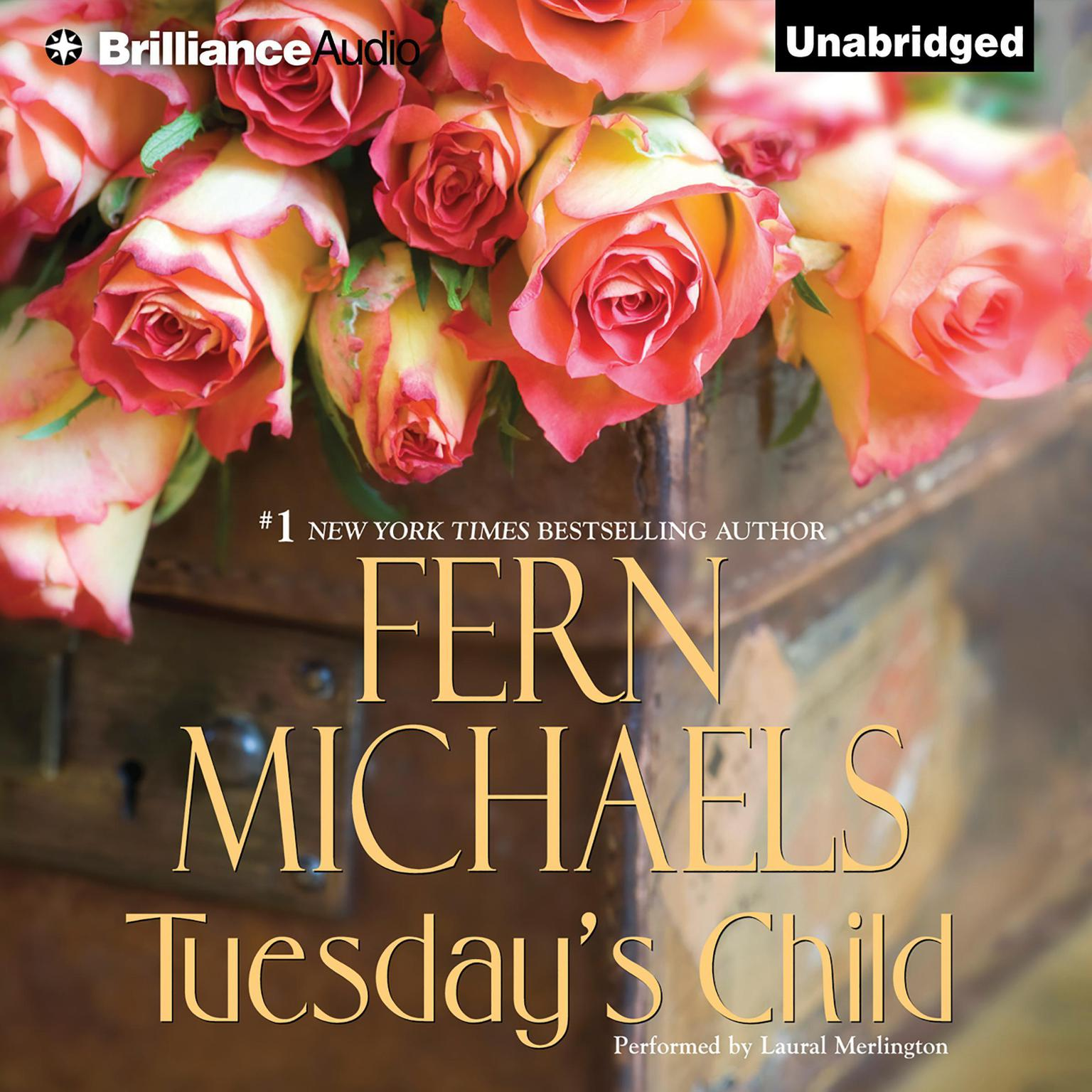 Printable Tuesday's Child Audiobook Cover Art