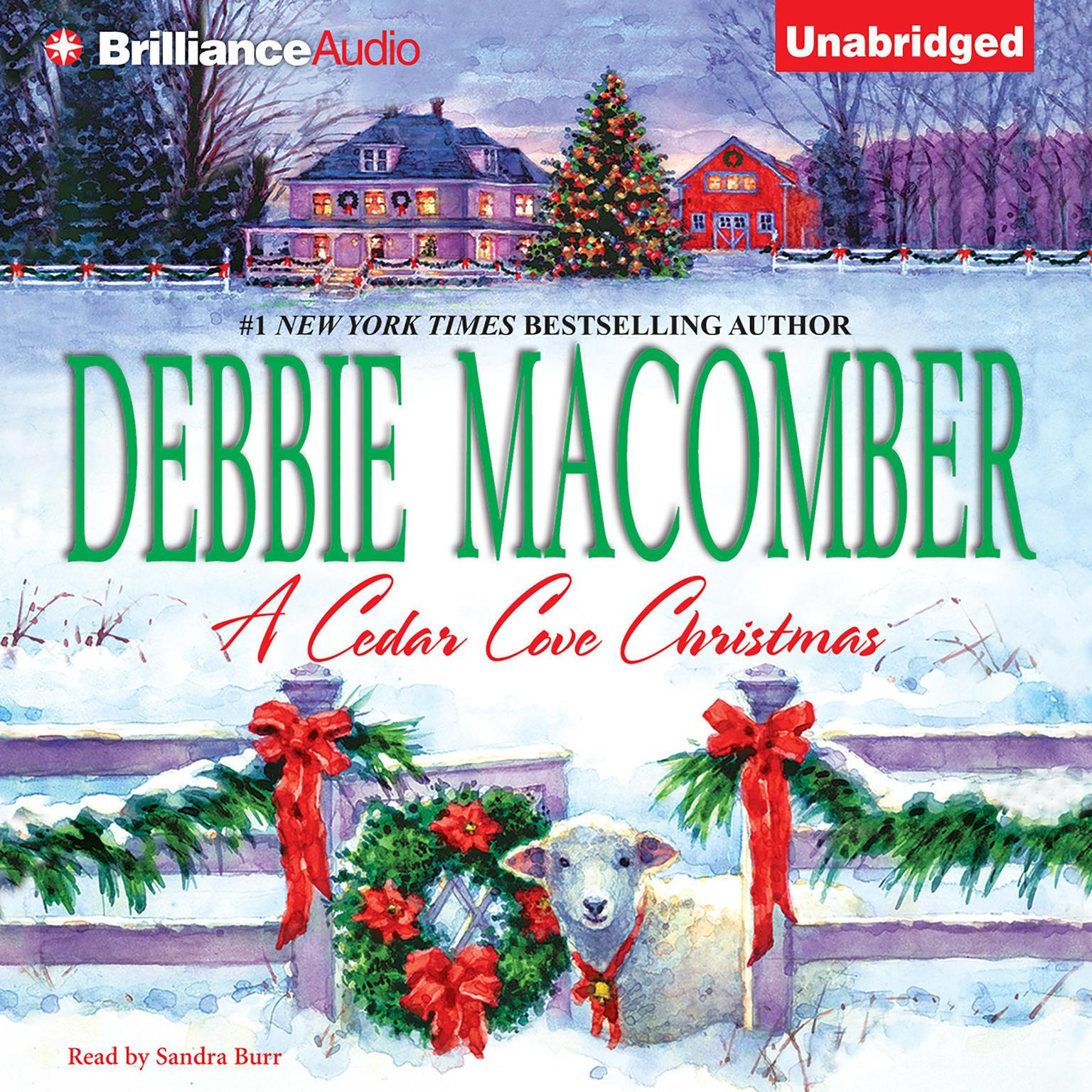 Printable A Cedar Cove Christmas Audiobook Cover Art