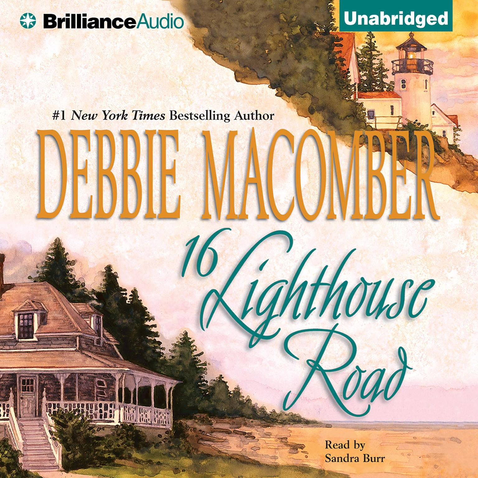 Printable 16 Lighthouse Road Audiobook Cover Art
