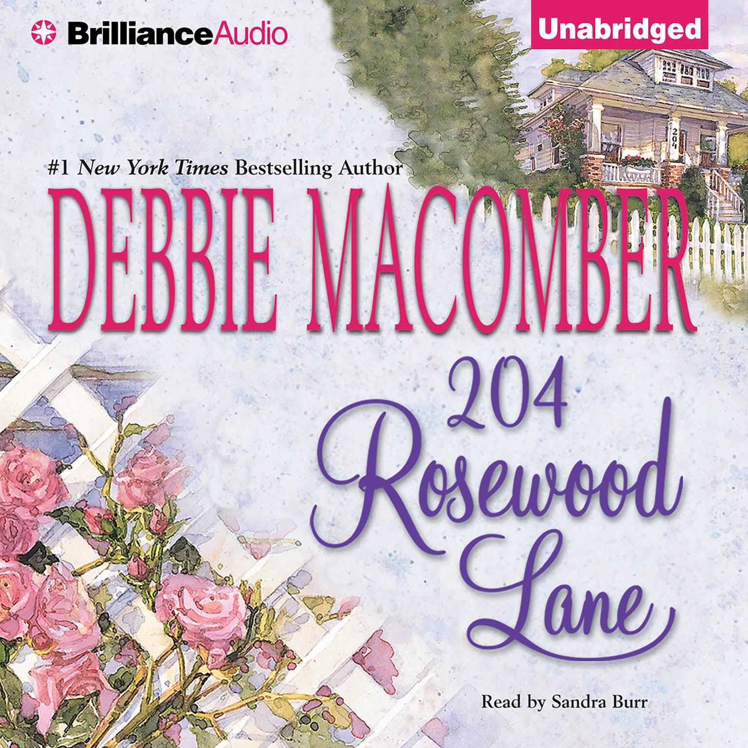 Printable 204 Rosewood Lane Audiobook Cover Art