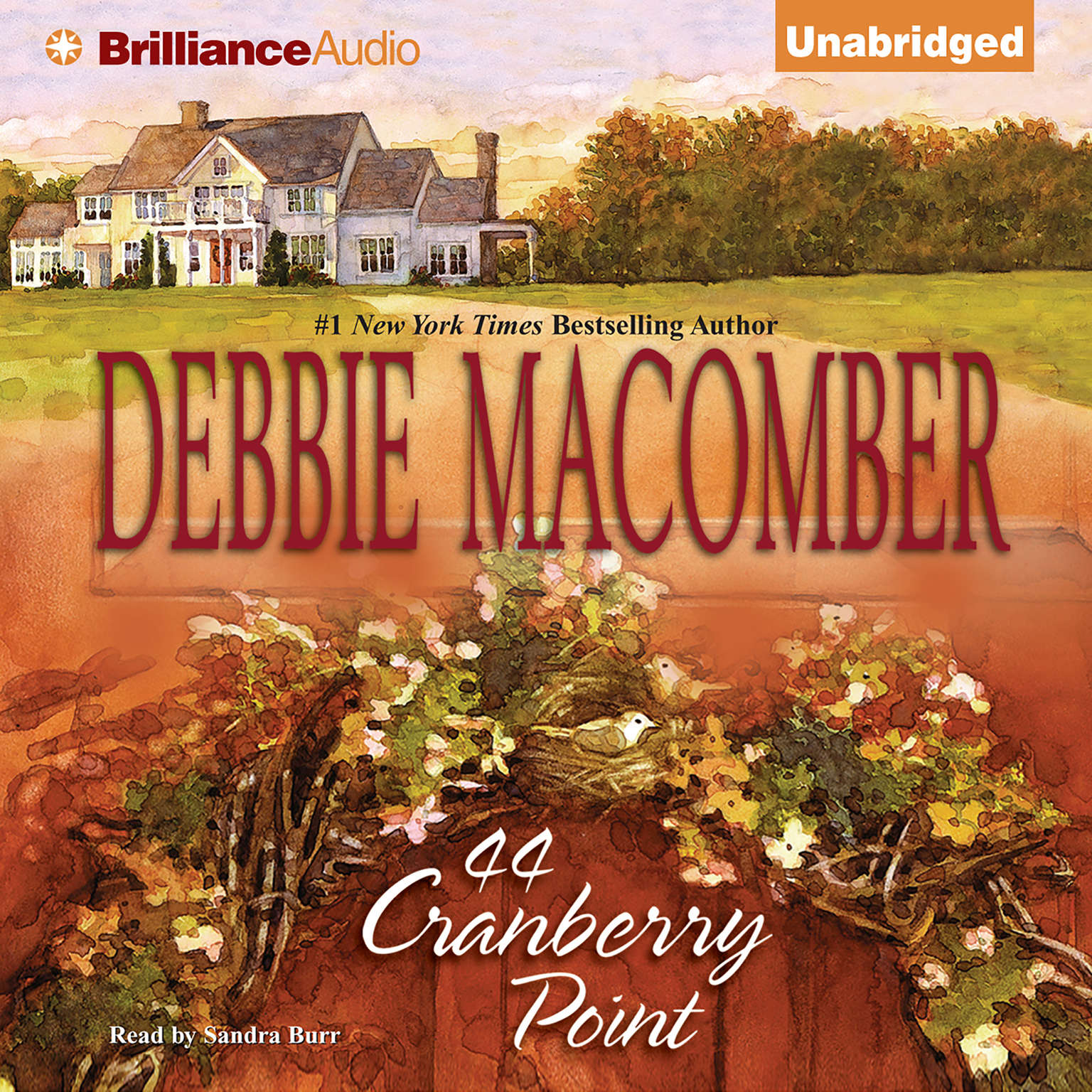 Printable 44 Cranberry Point Audiobook Cover Art