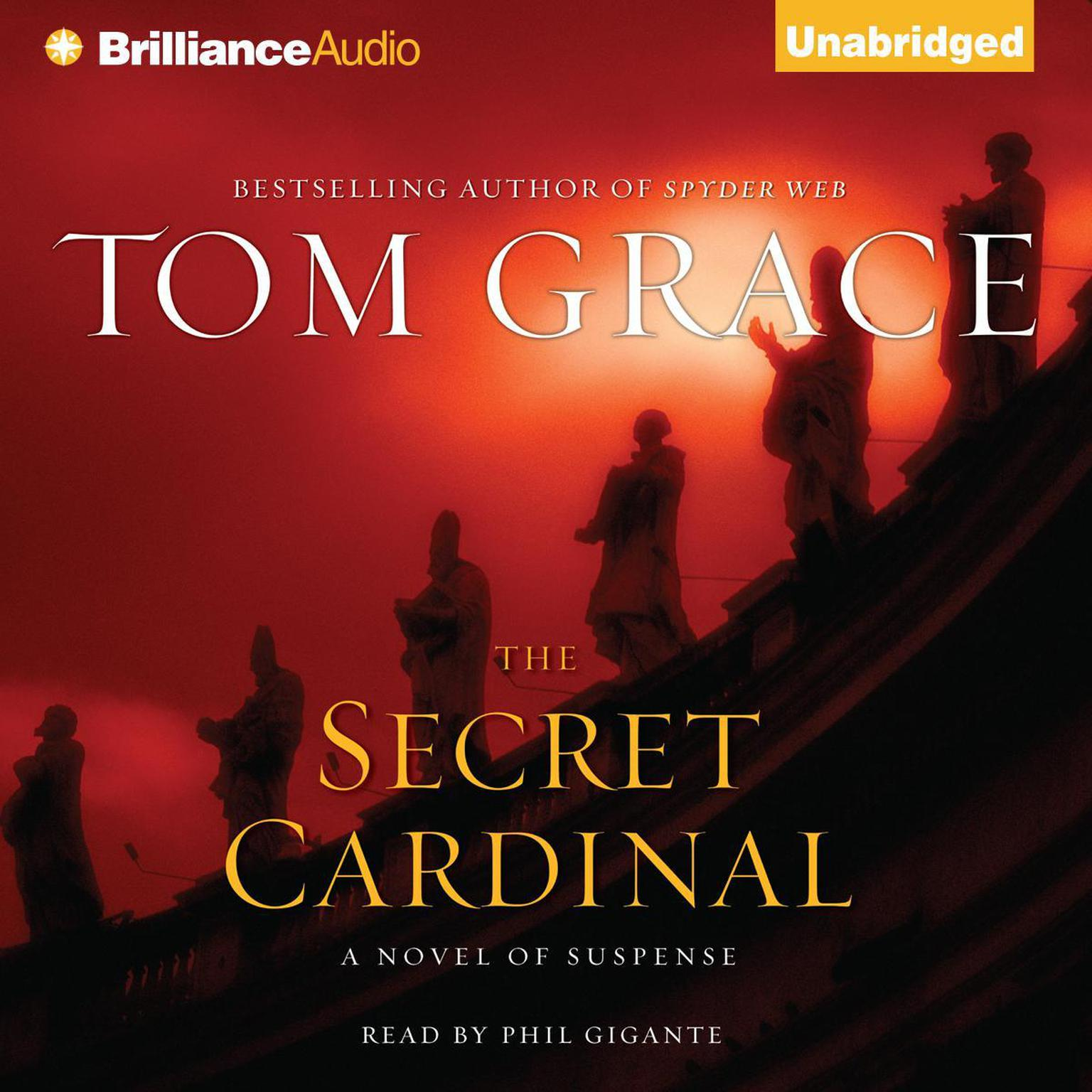 Printable The Secret Cardinal Audiobook Cover Art