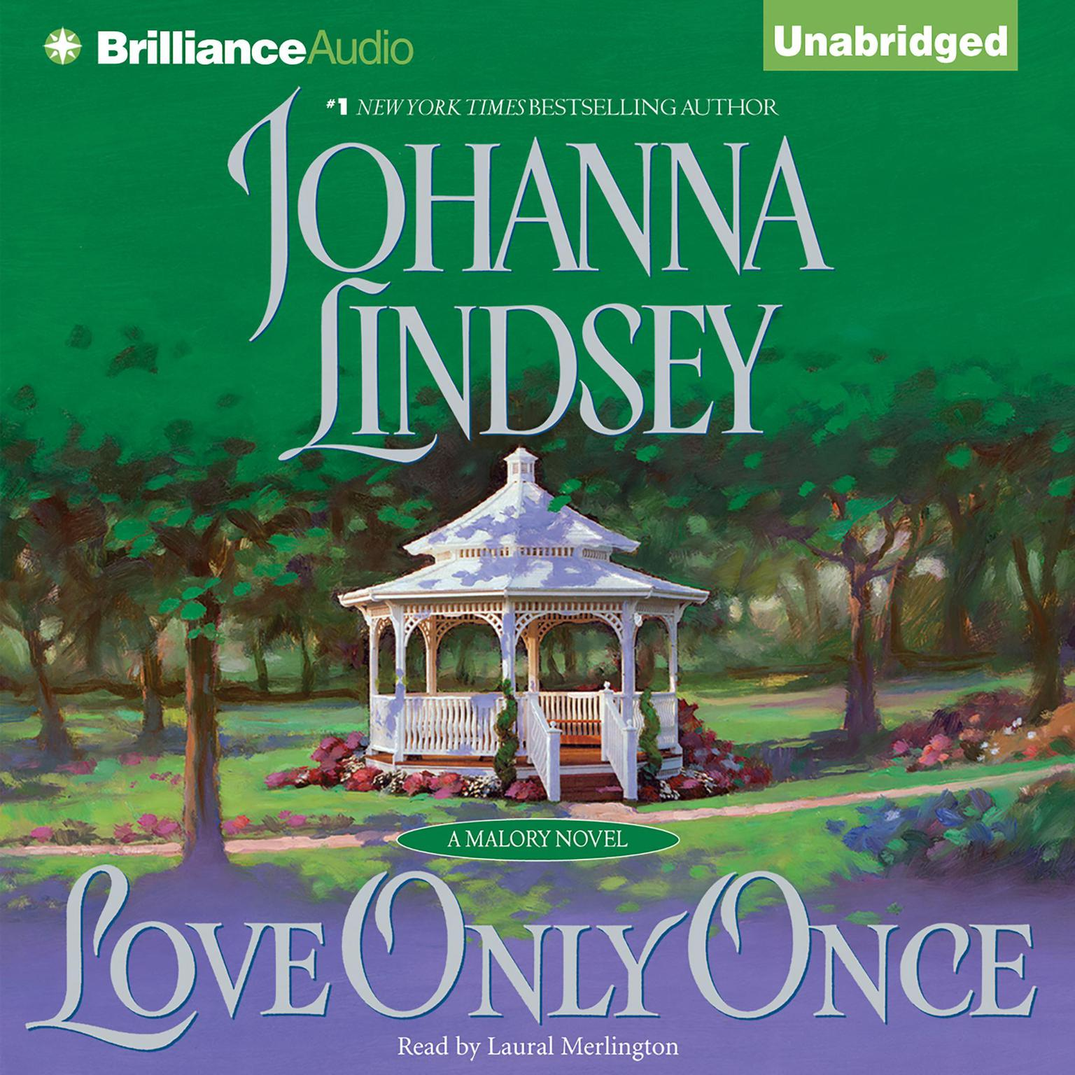 Printable Love Only Once: A Malory Novel Audiobook Cover Art