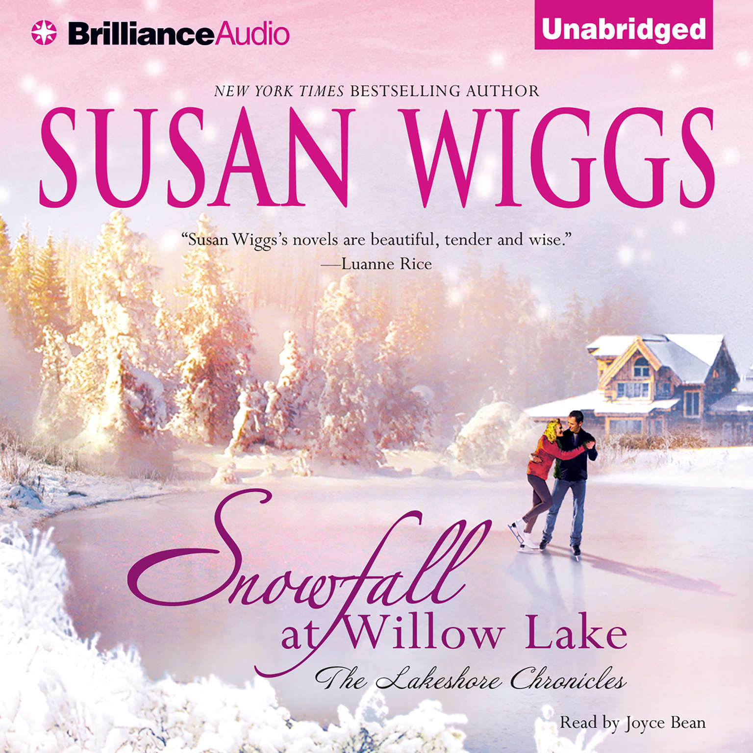 Printable Snowfall at Willow Lake Audiobook Cover Art