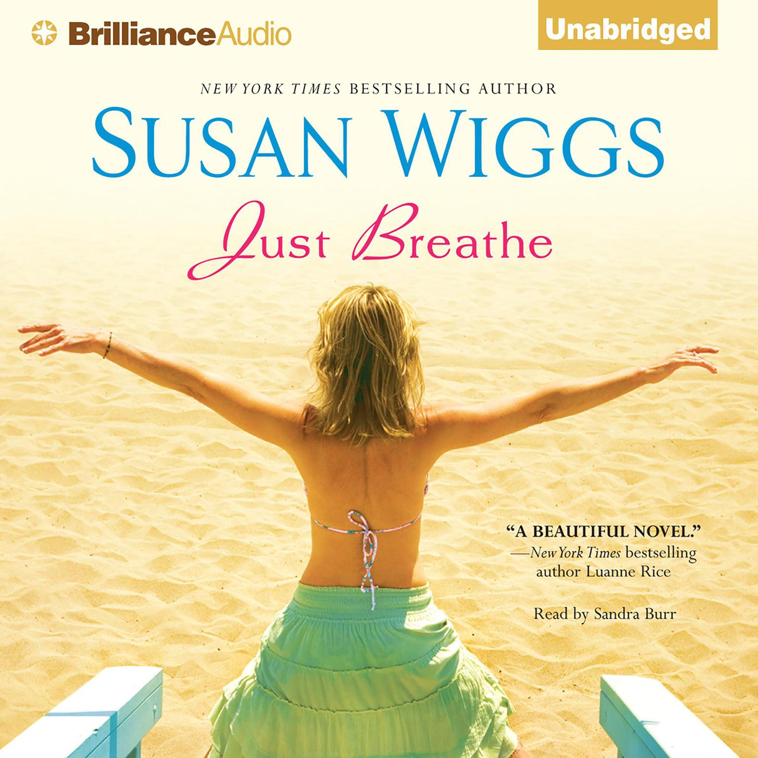 Printable Just Breathe Audiobook Cover Art