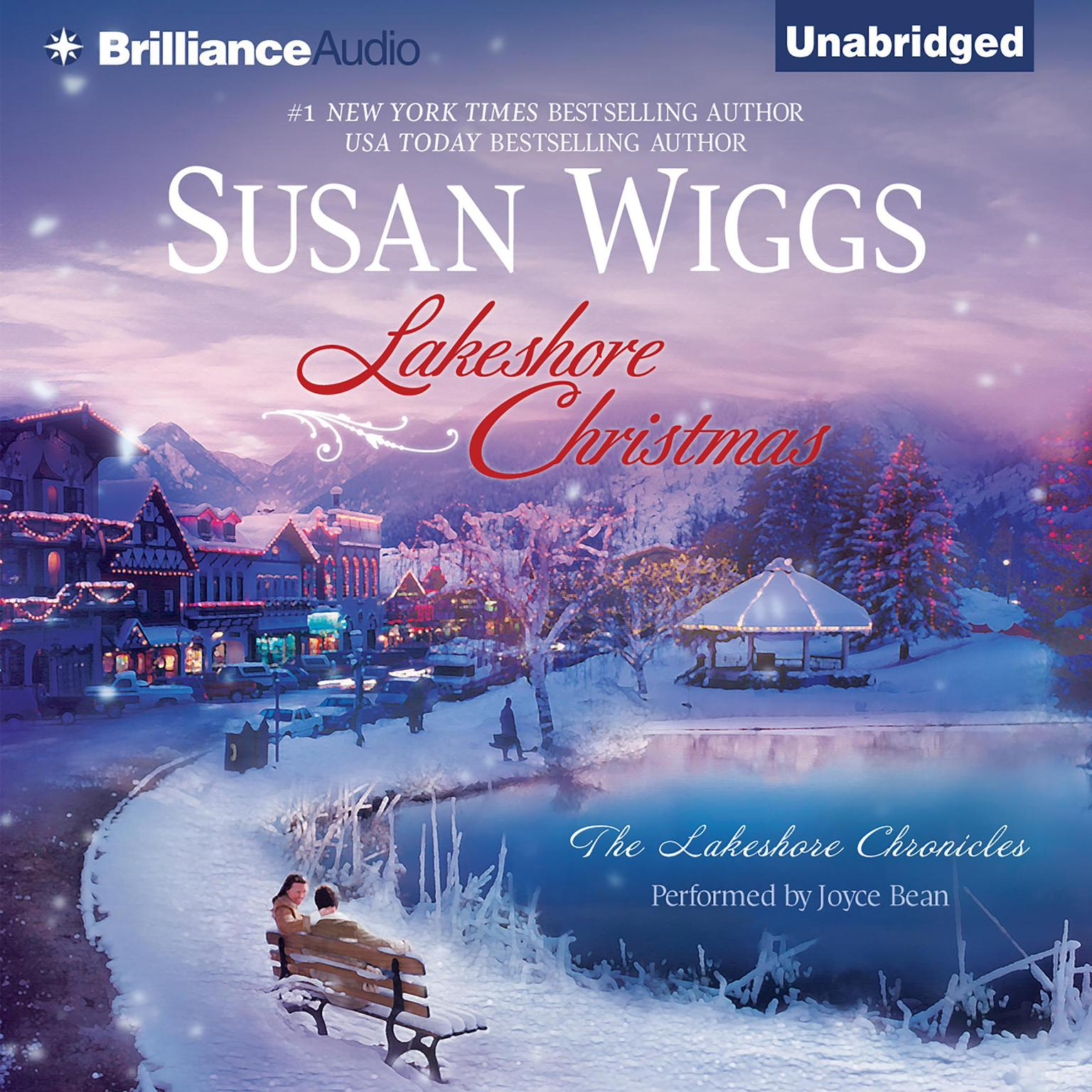 Printable Lakeshore Christmas Audiobook Cover Art