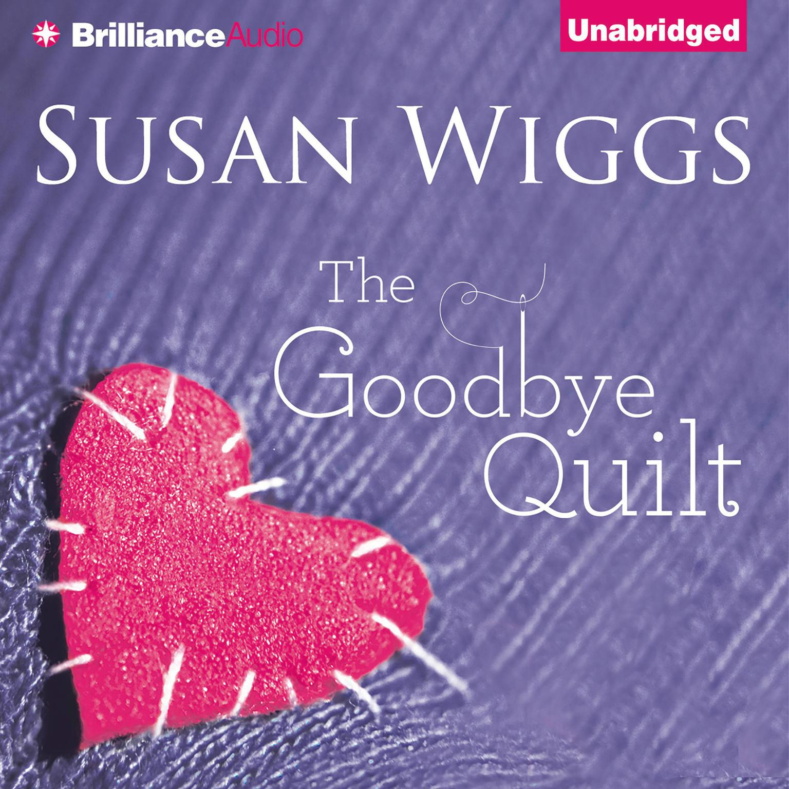 Printable The Goodbye Quilt Audiobook Cover Art
