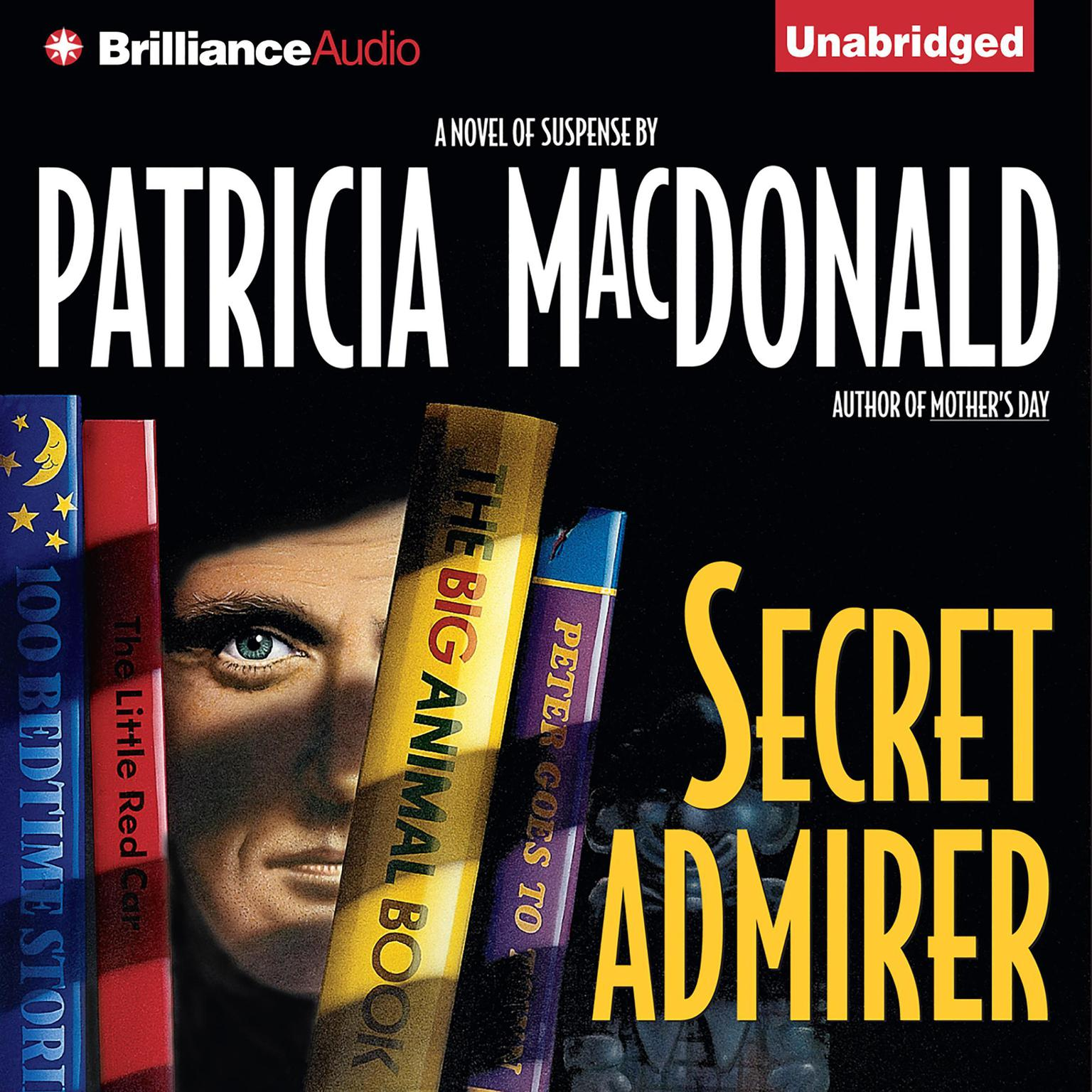 Printable Secret Admirer Audiobook Cover Art