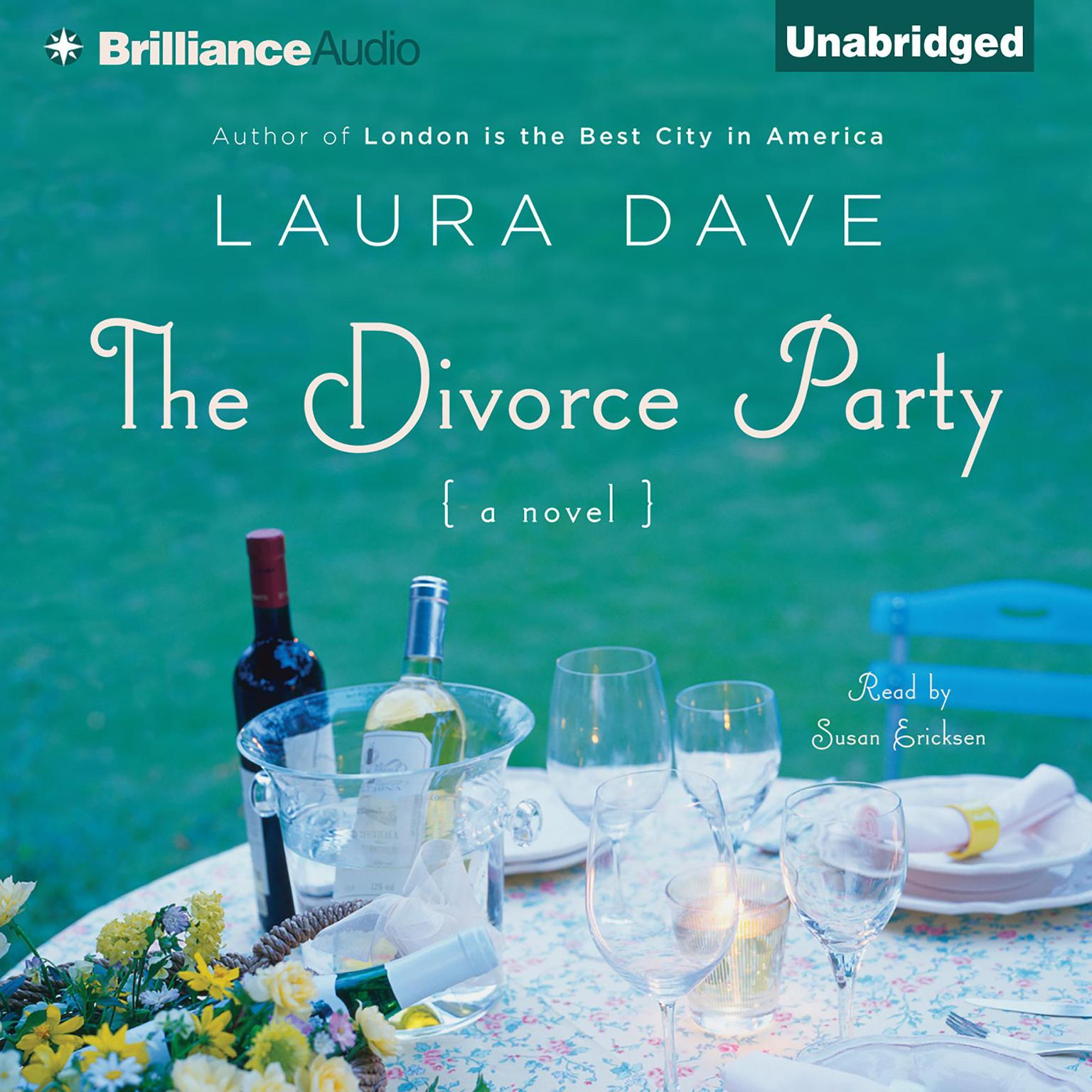 Printable The Divorce Party: A Novel Audiobook Cover Art