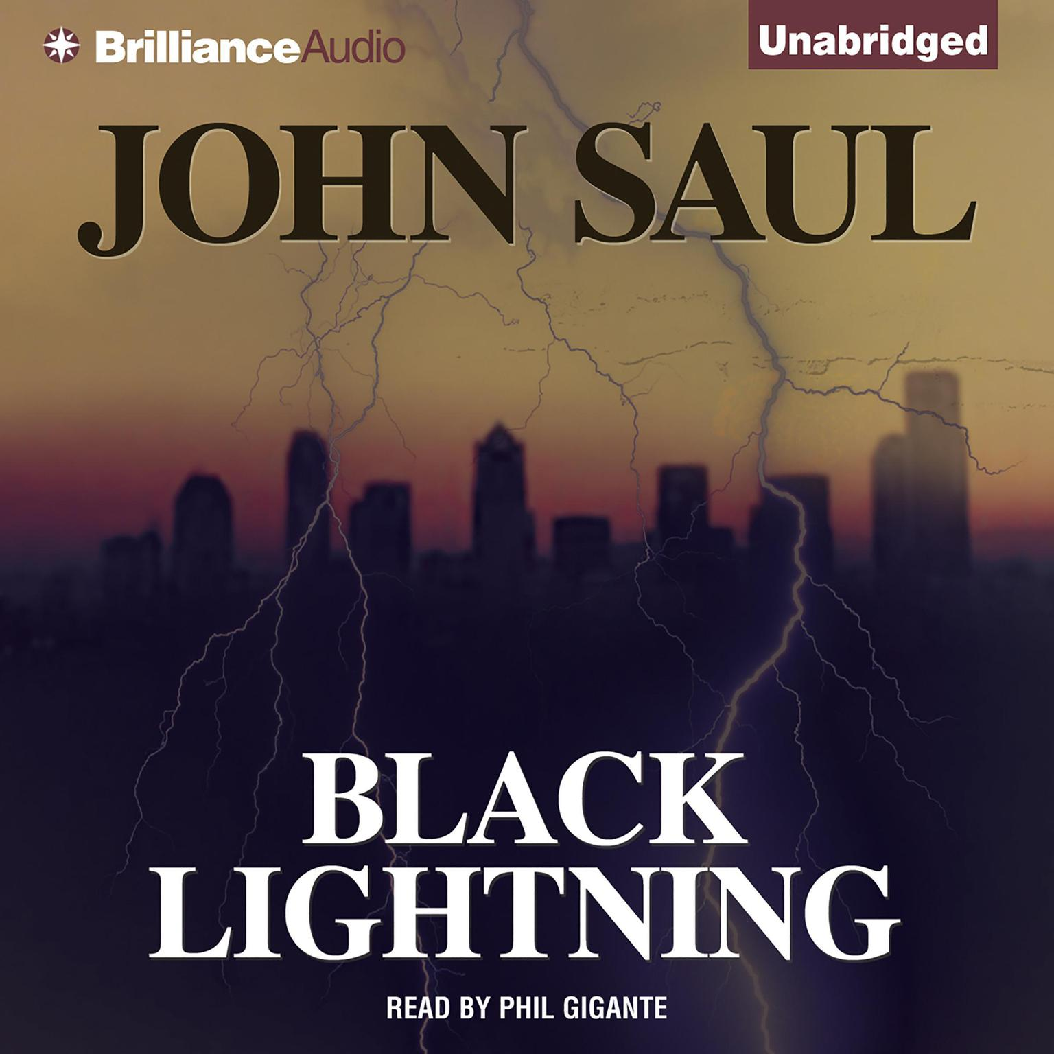 Printable Black Lightning Audiobook Cover Art