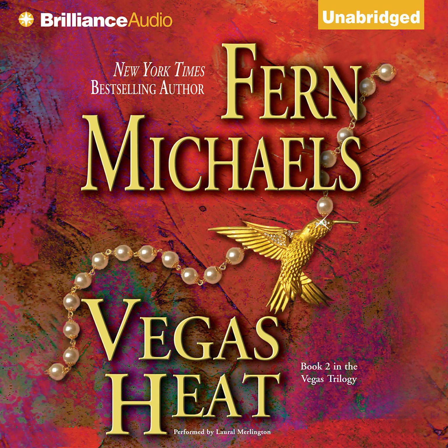 Printable Vegas Heat Audiobook Cover Art