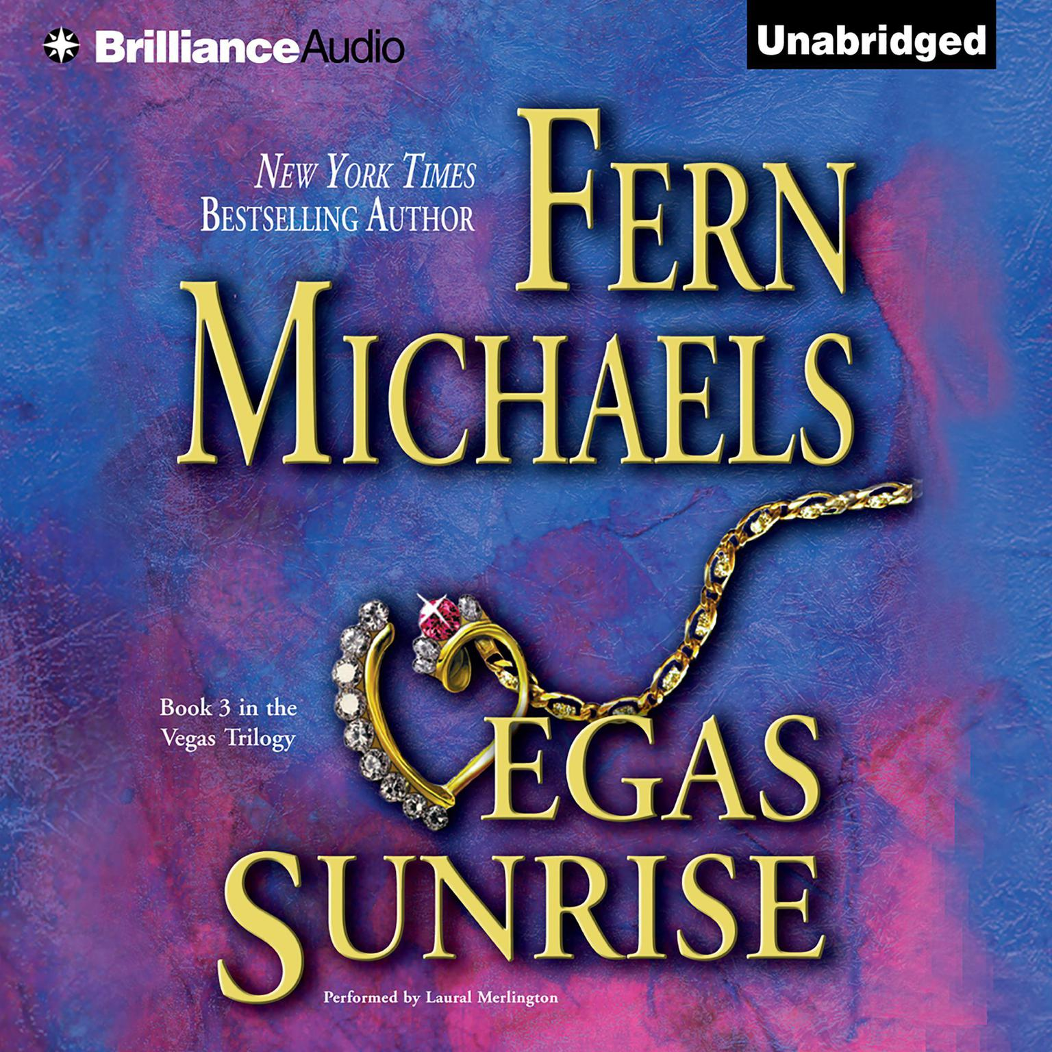 Printable Vegas Sunrise Audiobook Cover Art