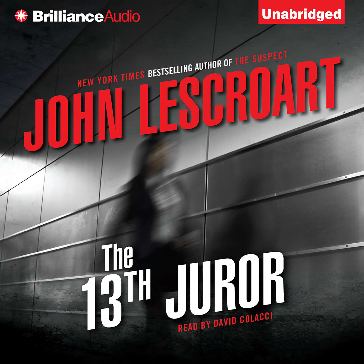 Printable The 13th Juror Audiobook Cover Art