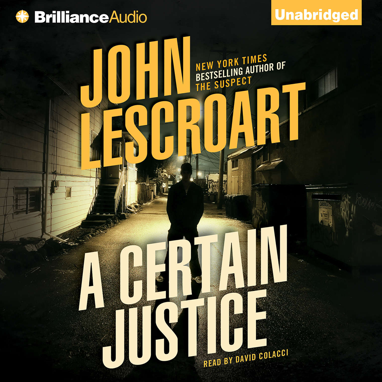 Printable A Certain Justice Audiobook Cover Art