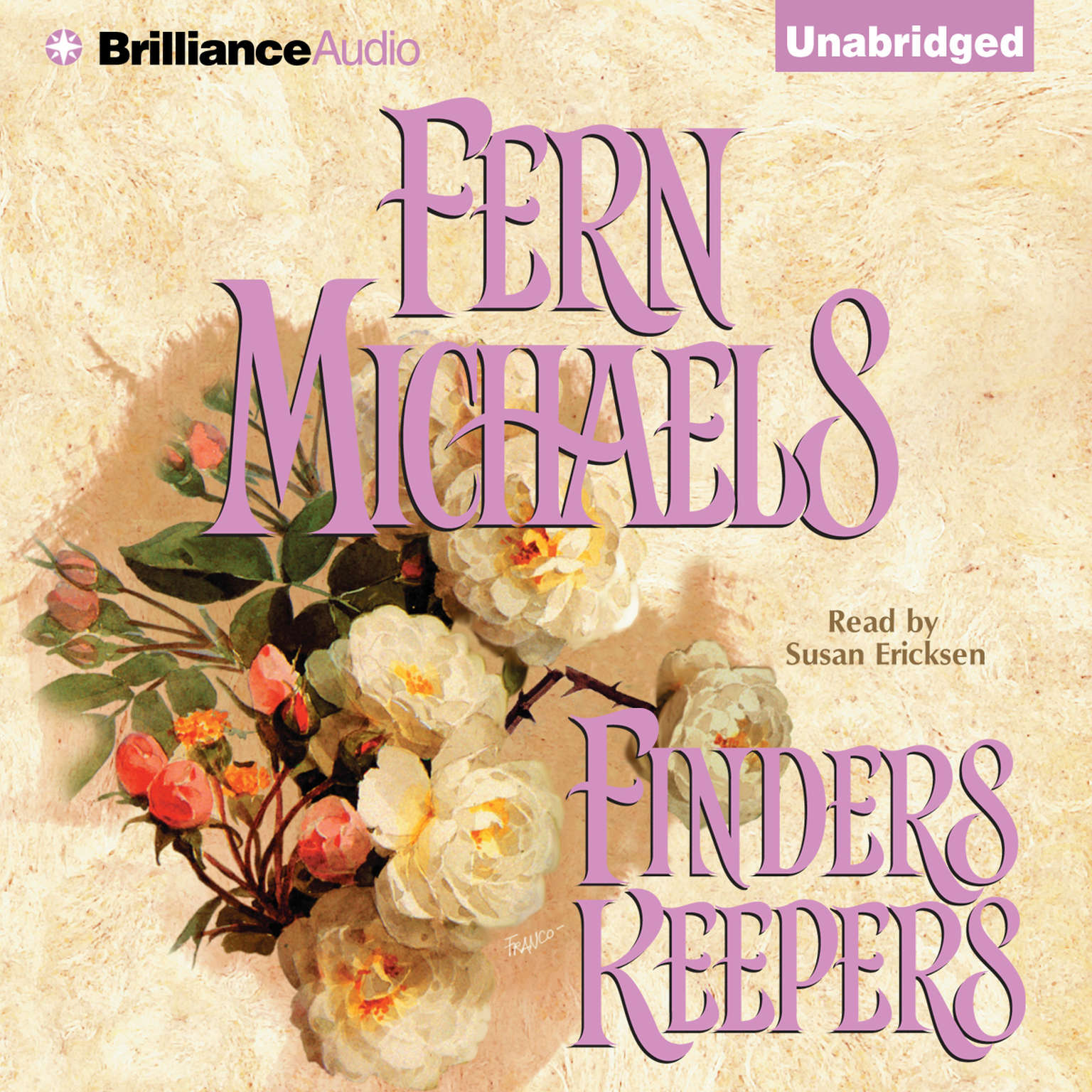 Printable Finders Keepers Audiobook Cover Art