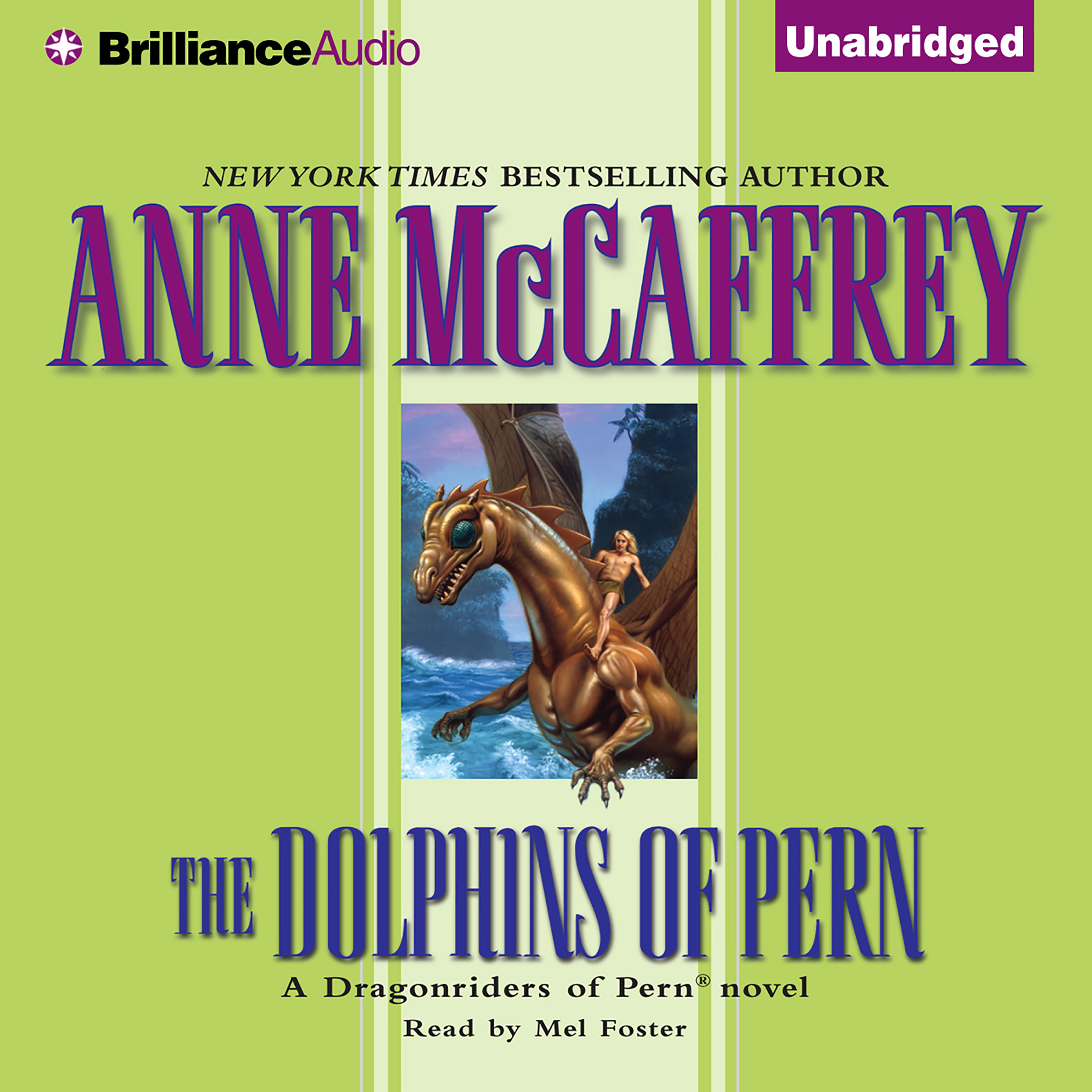 Printable The Dolphins of Pern Audiobook Cover Art