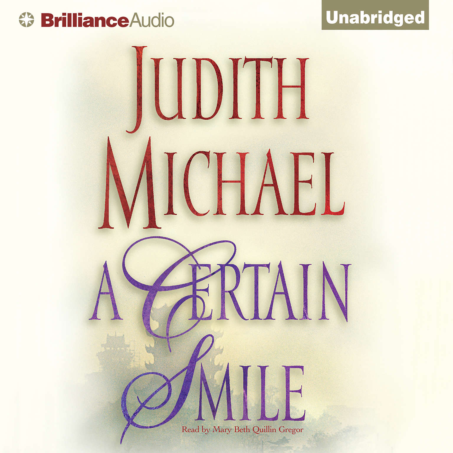 Printable A Certain Smile Audiobook Cover Art