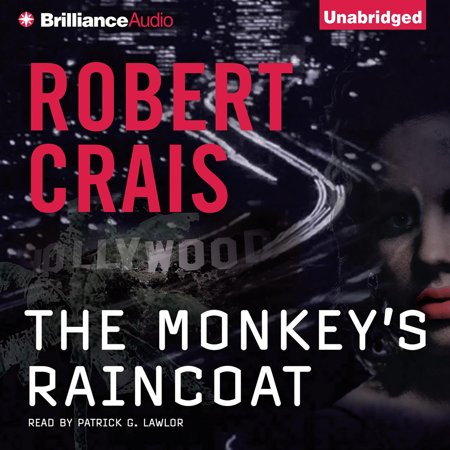 Printable The Monkey's Raincoat Audiobook Cover Art