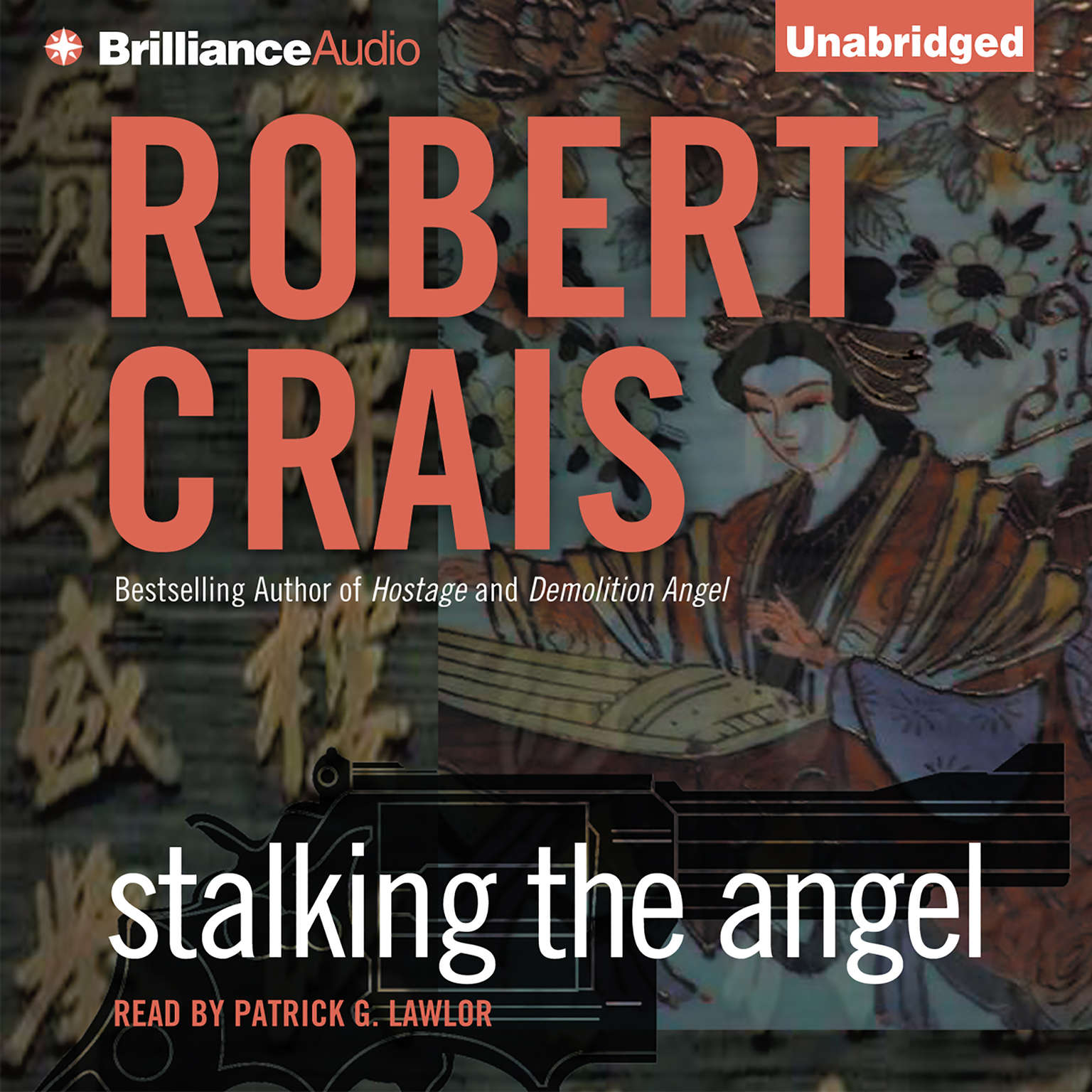 Printable Stalking the Angel Audiobook Cover Art