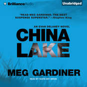 China Lake: An Evan Delaney Novel, by Meg Gardiner