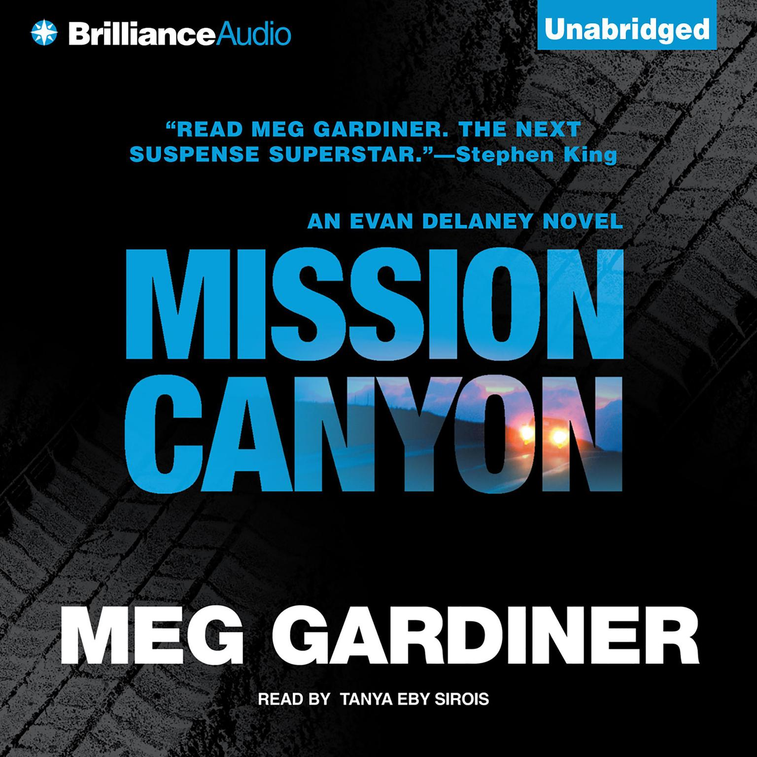 Printable Mission Canyon: An Evan Delaney Novel Audiobook Cover Art