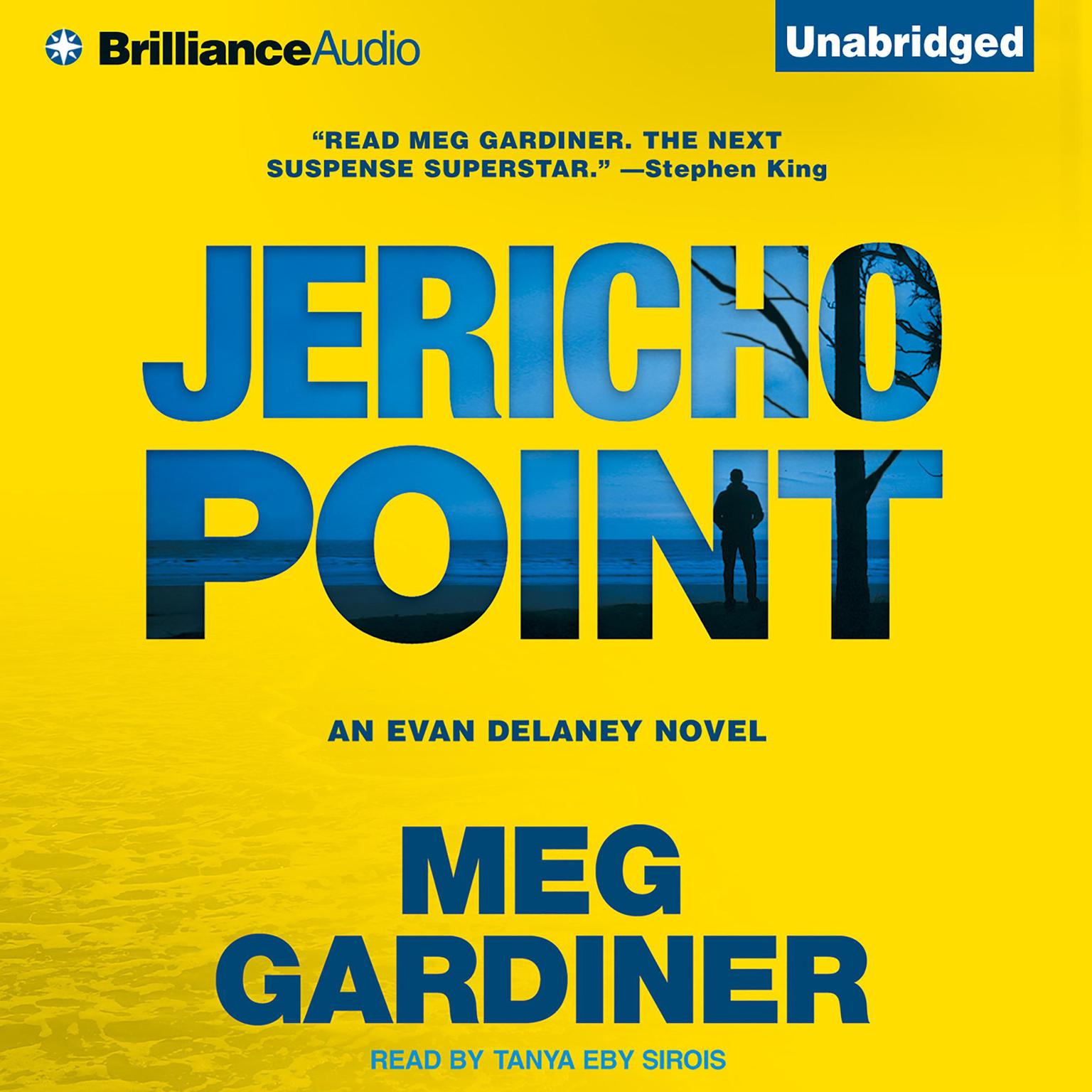 Printable Jericho Point: An Evan Delaney Novel Audiobook Cover Art