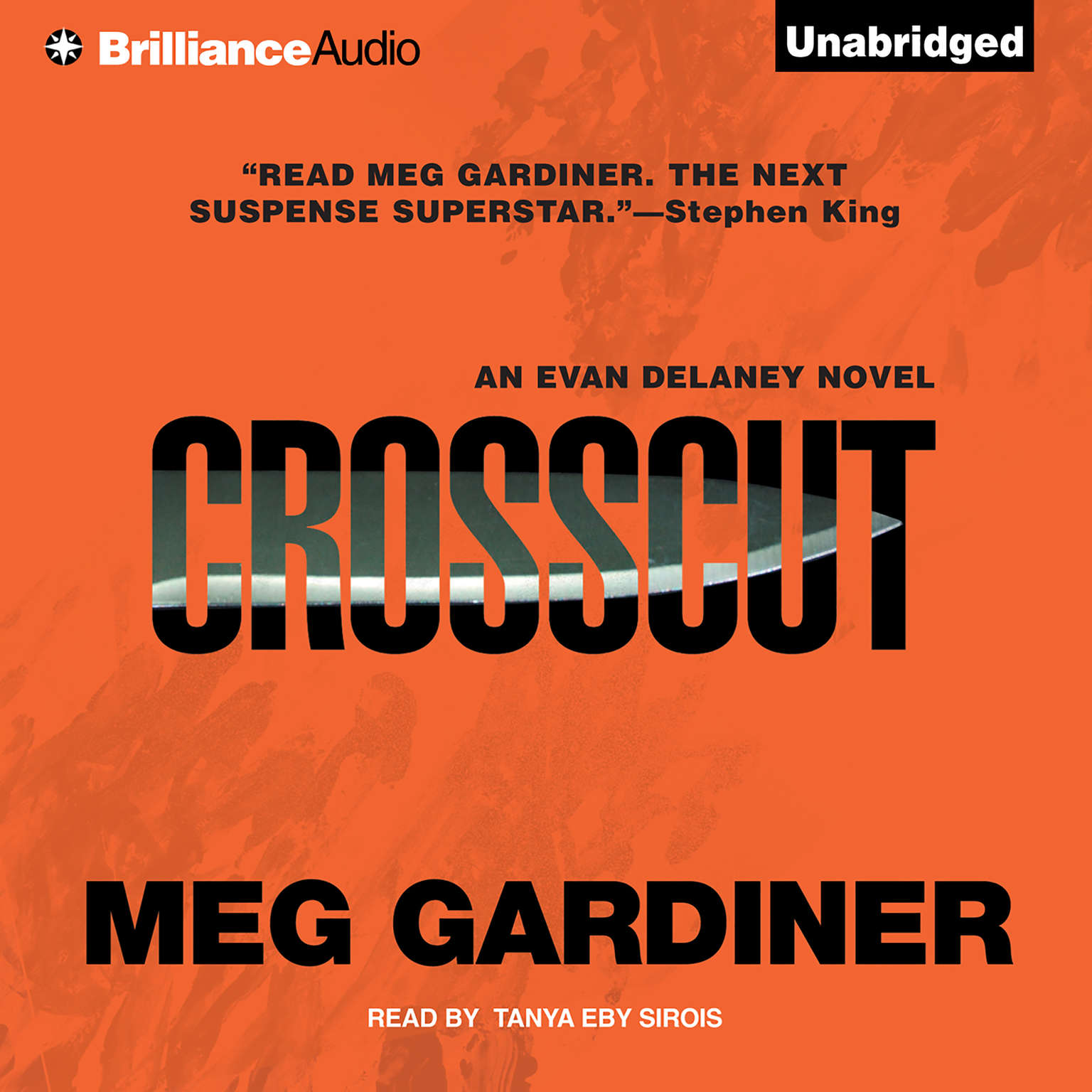 Printable Crosscut: An Evan Delaney Novel Audiobook Cover Art