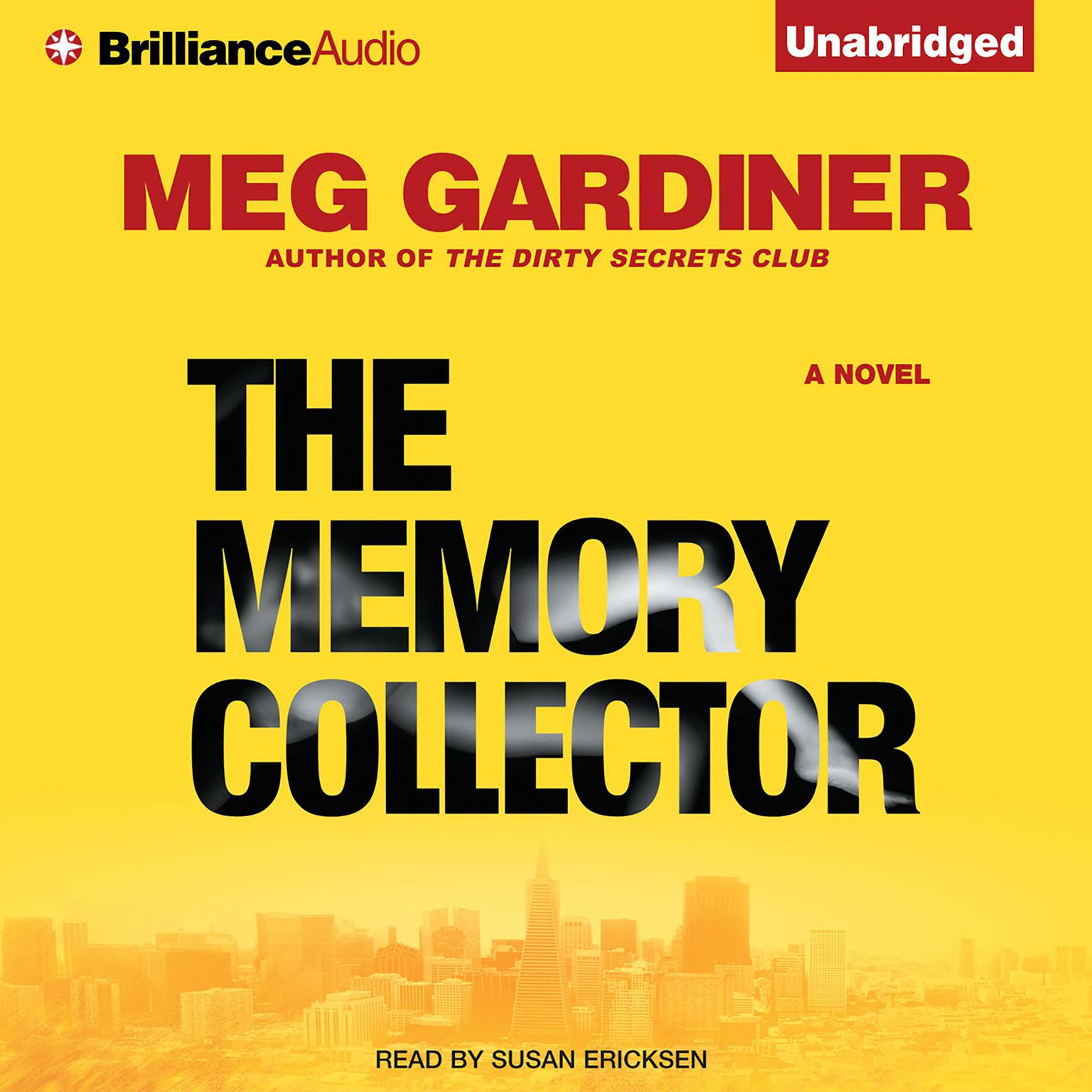 Printable The Memory Collector: A Novel Audiobook Cover Art