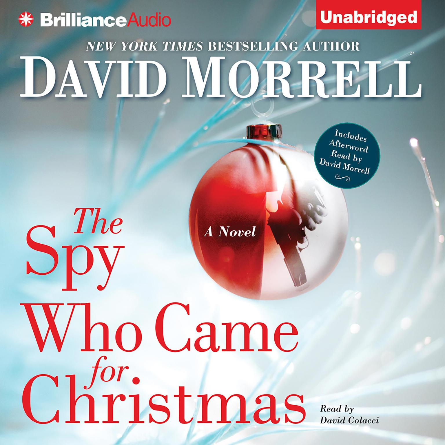 Printable The Spy Who Came for Christmas Audiobook Cover Art