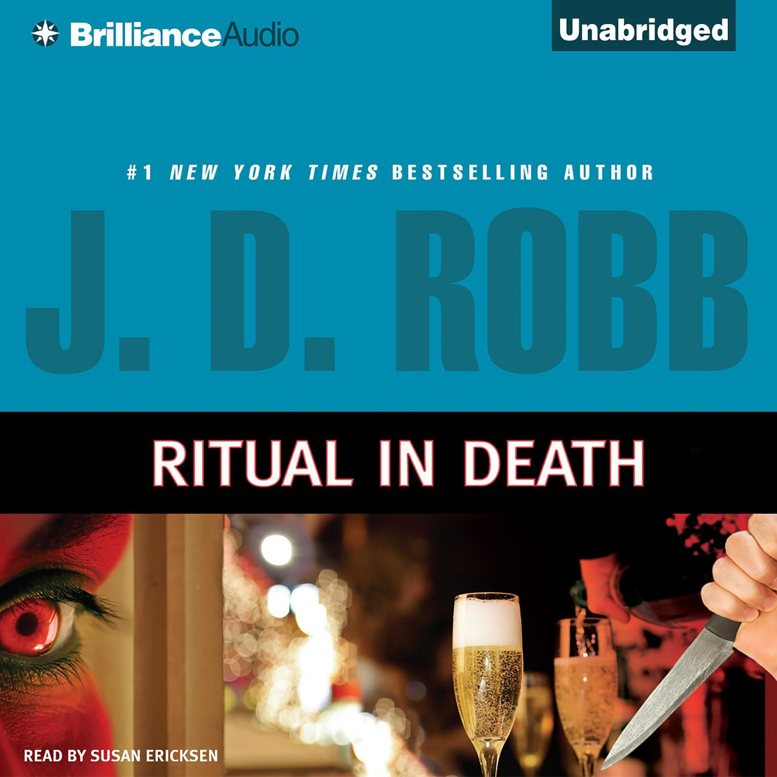 Printable Ritual in Death Audiobook Cover Art