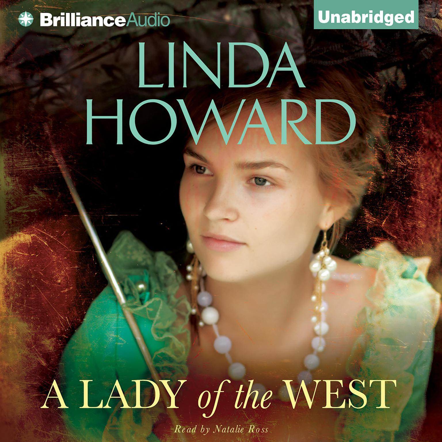 Printable A Lady of the West Audiobook Cover Art