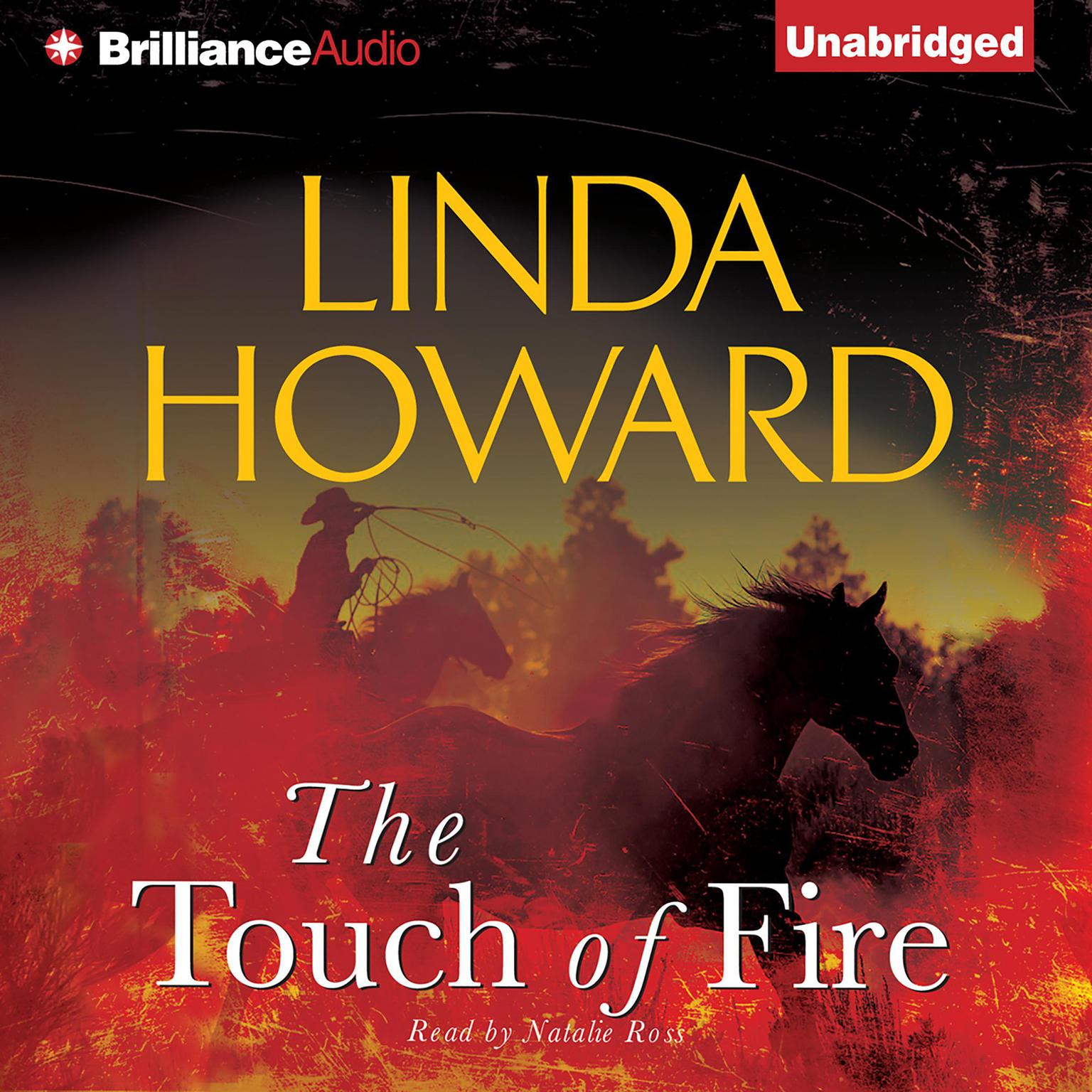 Printable The Touch of Fire Audiobook Cover Art