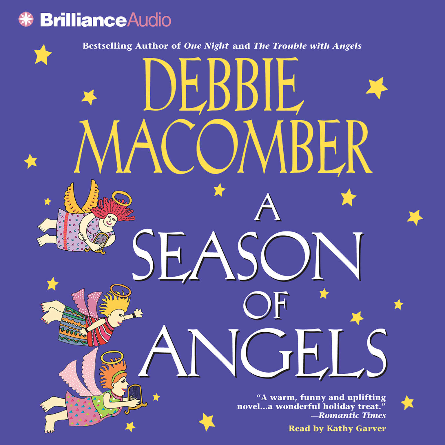 Printable A Season of Angels Audiobook Cover Art