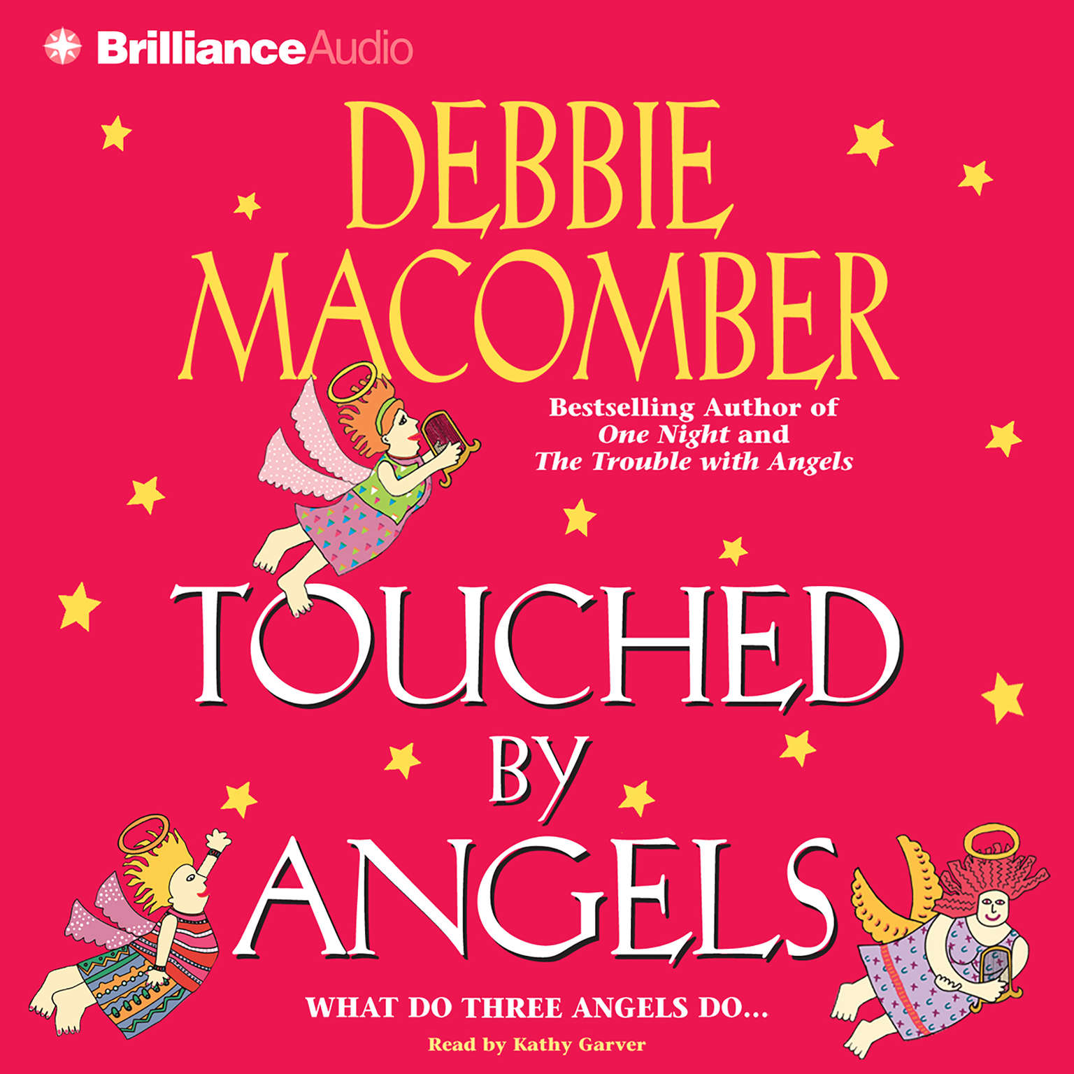Printable Touched by Angels Audiobook Cover Art