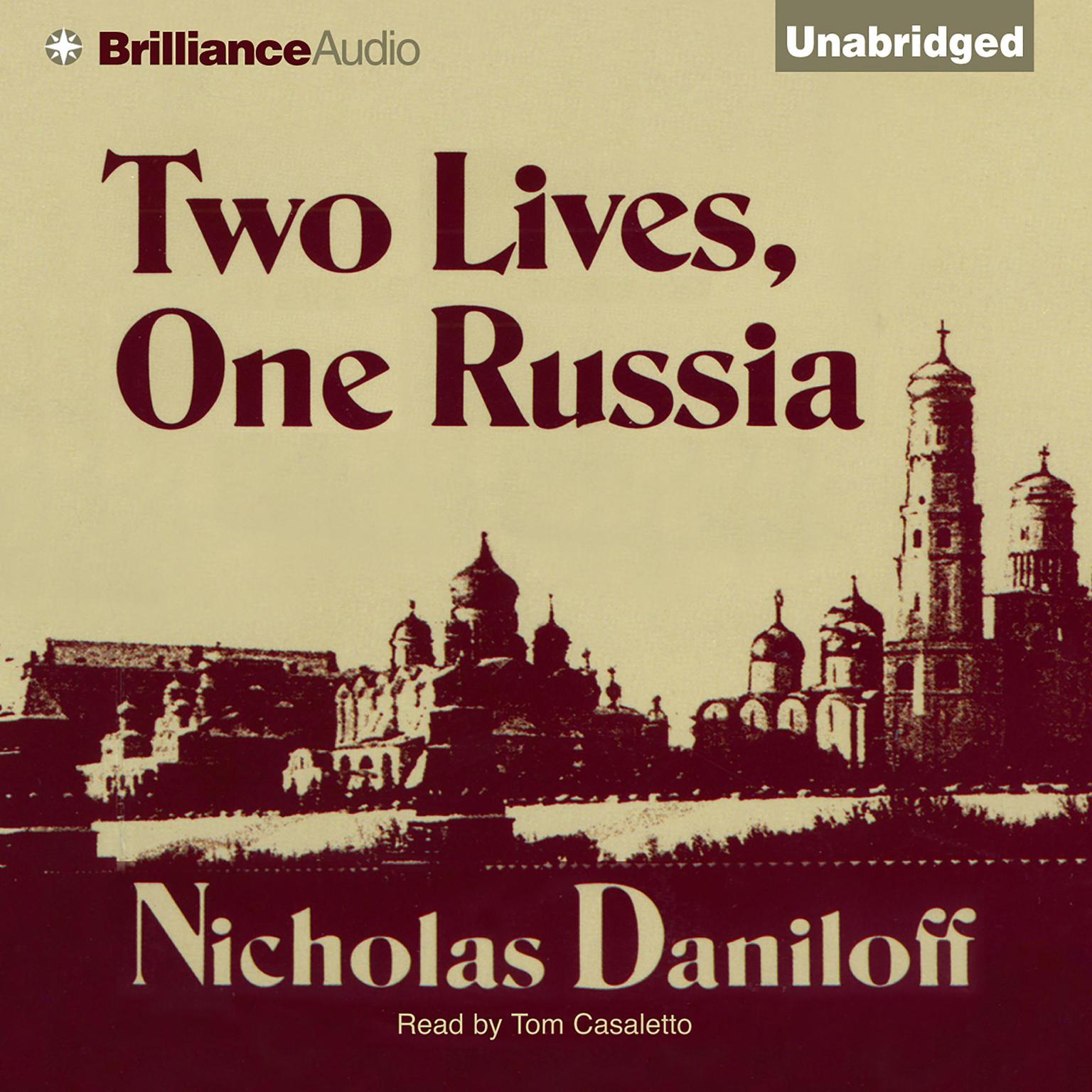 Printable Two Lives, One Russia Audiobook Cover Art