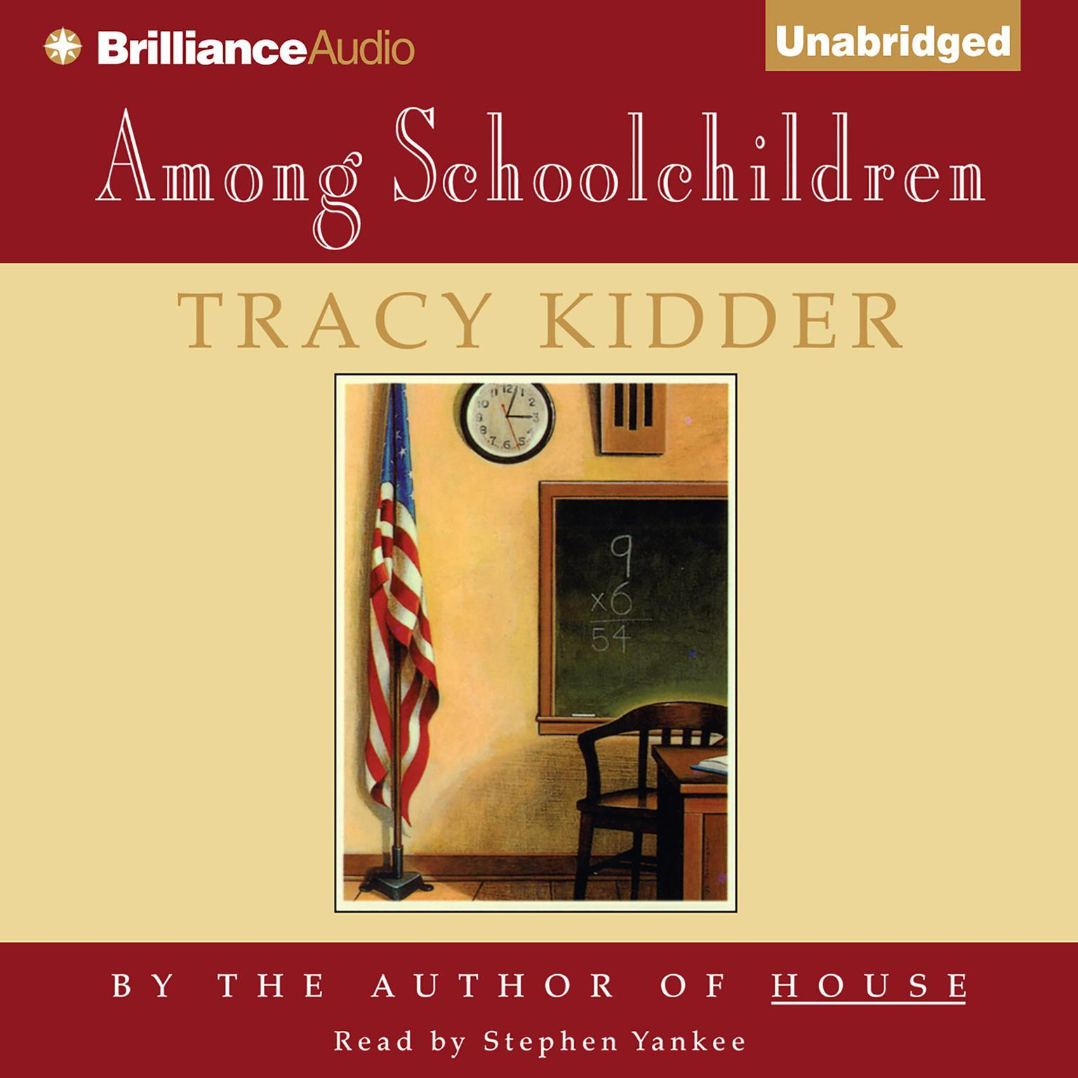 Printable Among Schoolchildren Audiobook Cover Art