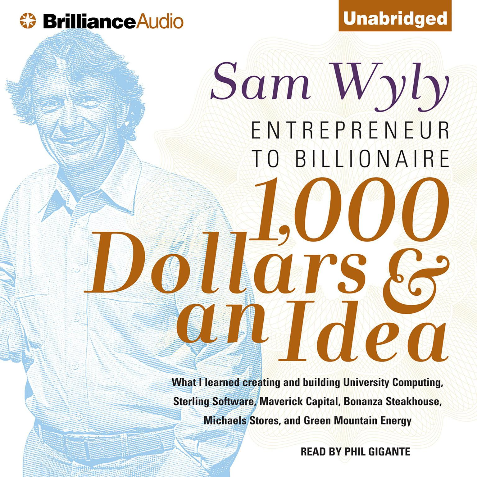 Printable 1,000 Dollars and an Idea: Entrepreneur to Billionaire Audiobook Cover Art