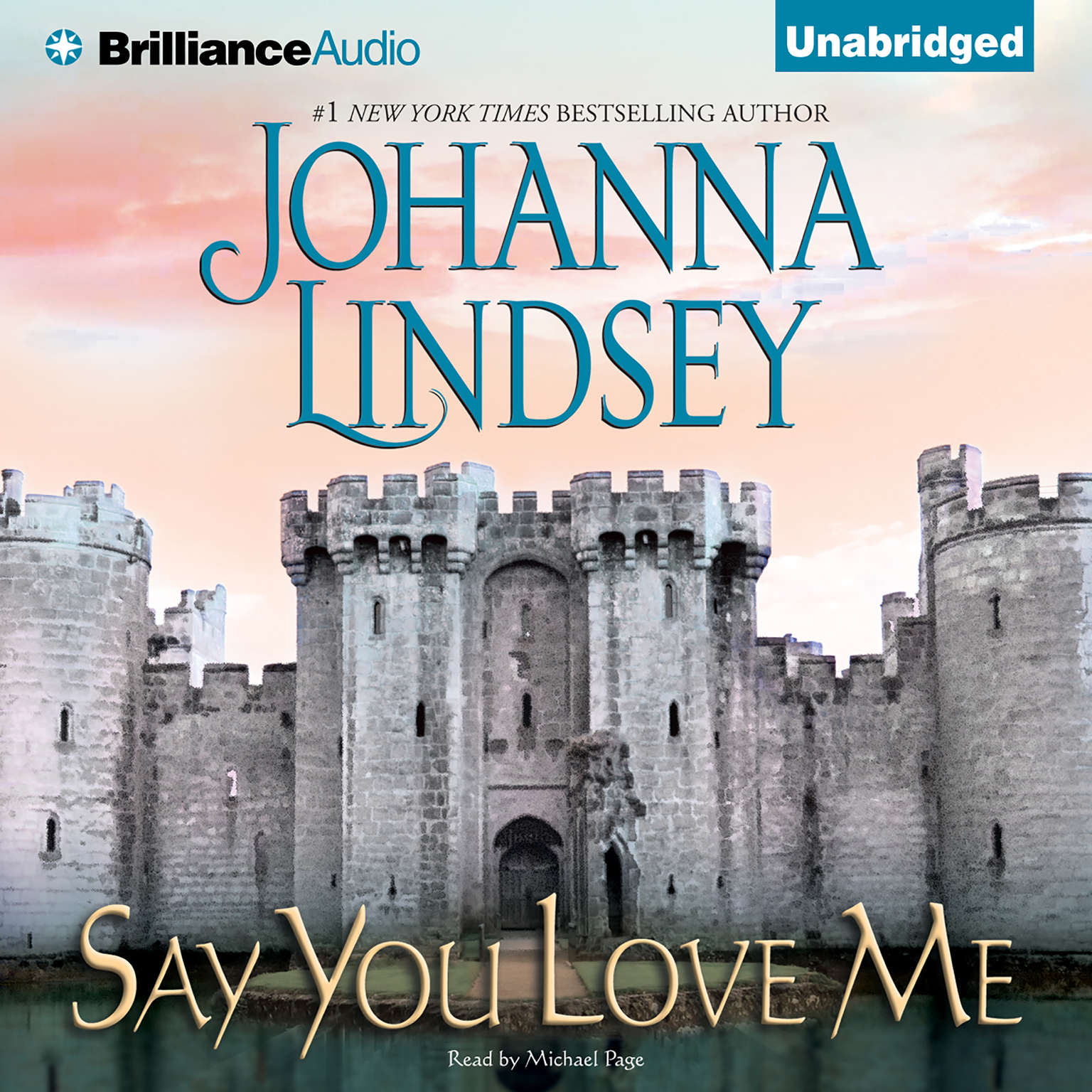 Printable Say You Love Me Audiobook Cover Art