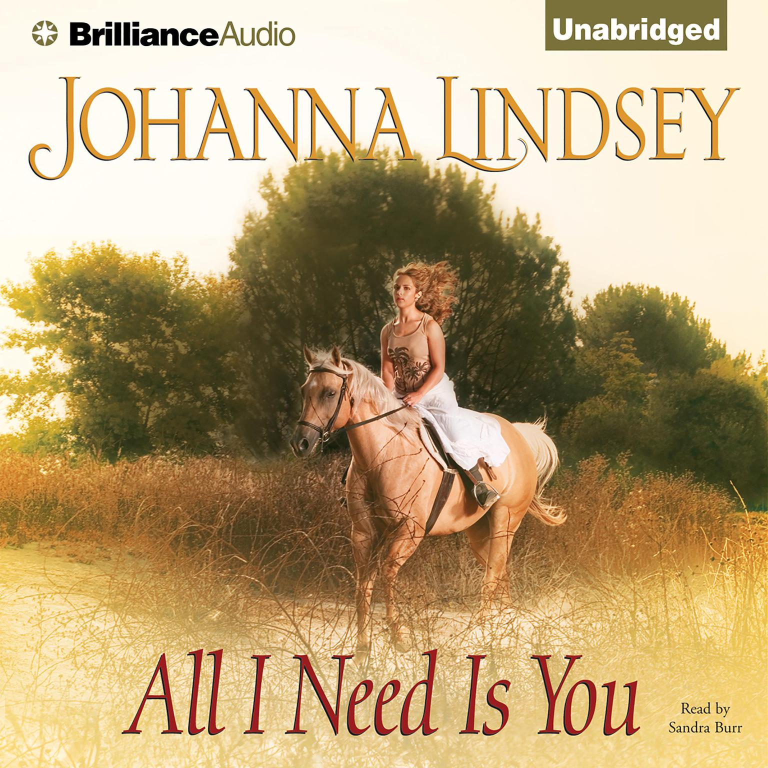 Printable All I Need Is You Audiobook Cover Art