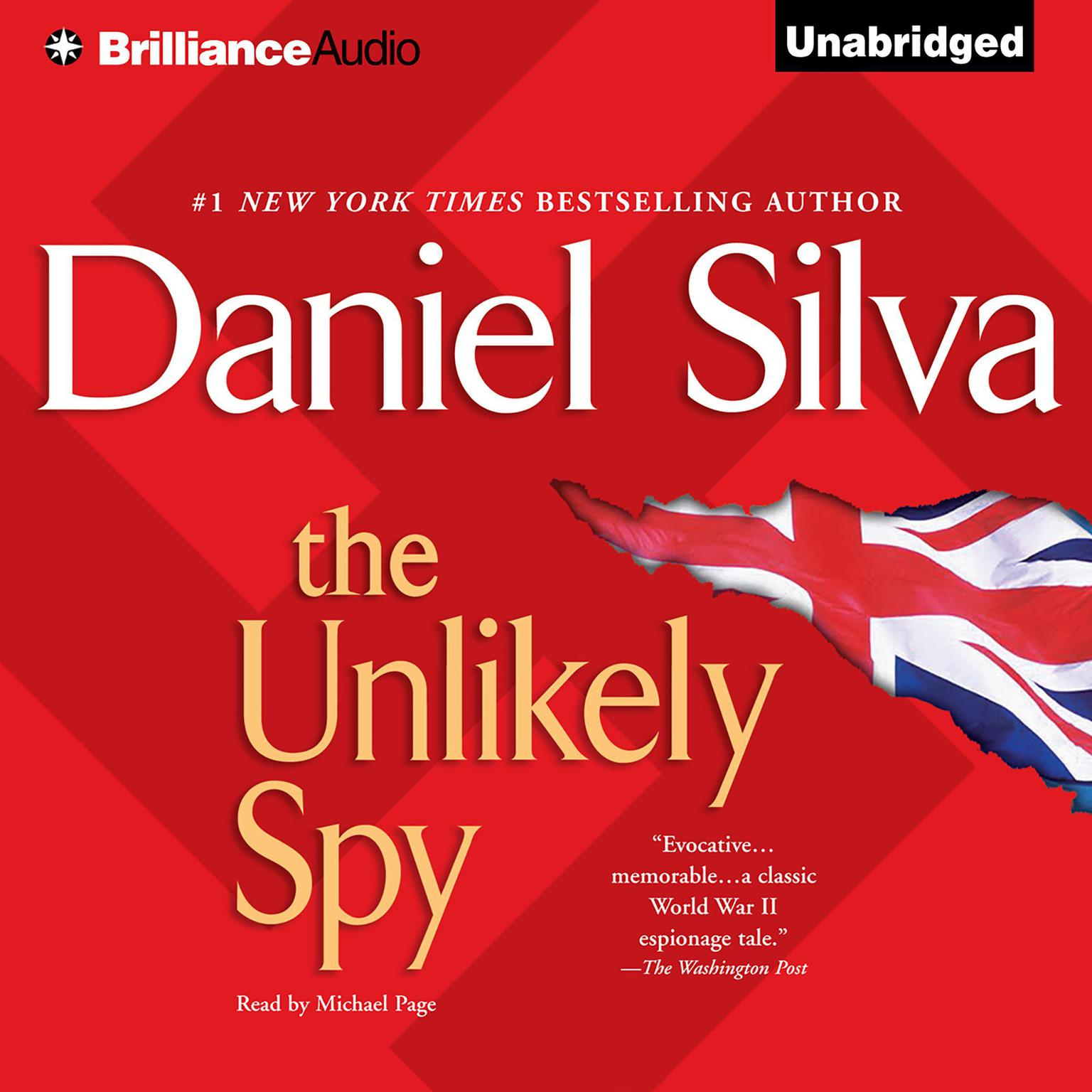 Printable The Unlikely Spy Audiobook Cover Art