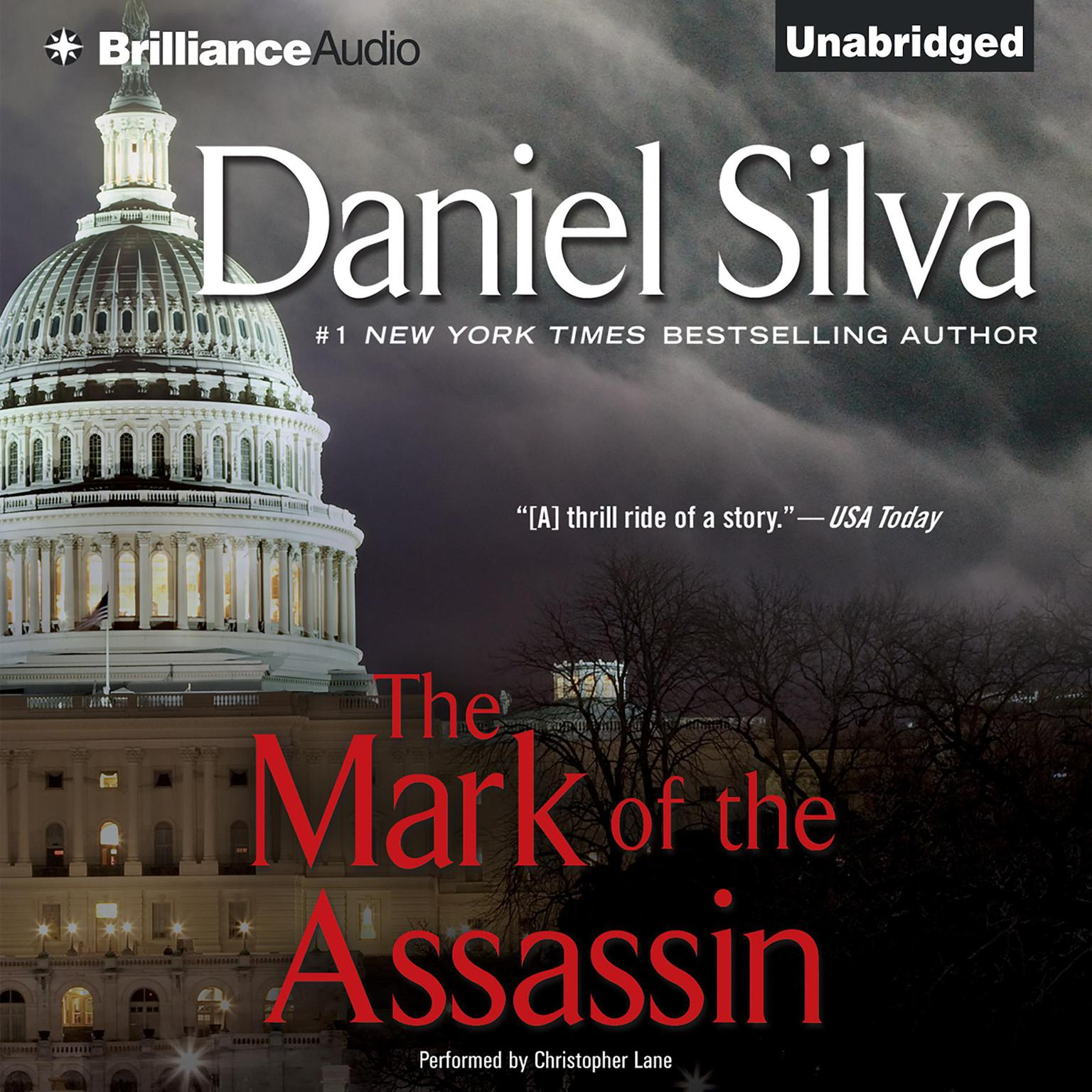 Printable The Mark of the Assassin Audiobook Cover Art