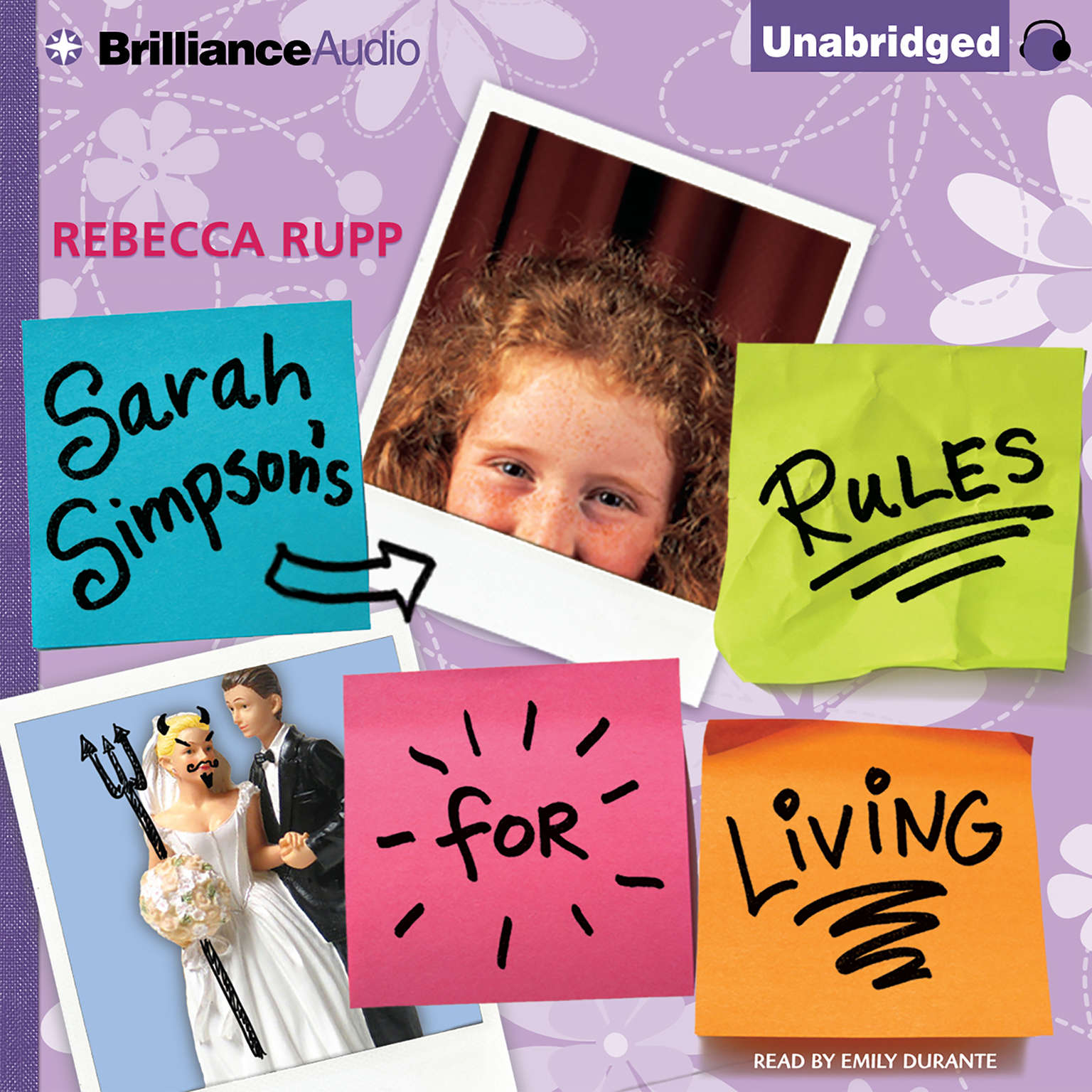 Printable Sarah Simpson's Rules for Living Audiobook Cover Art