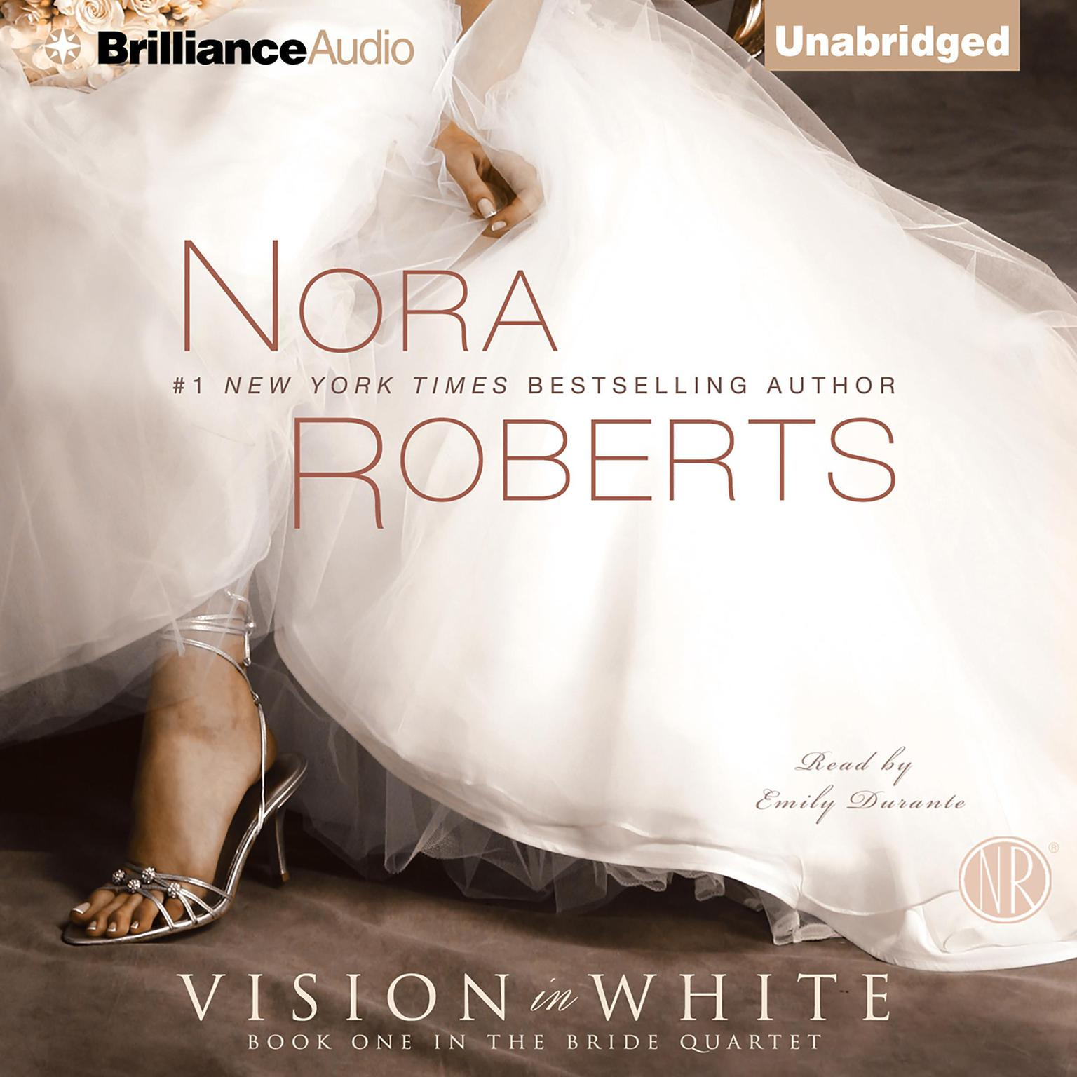 Printable Vision in White Audiobook Cover Art